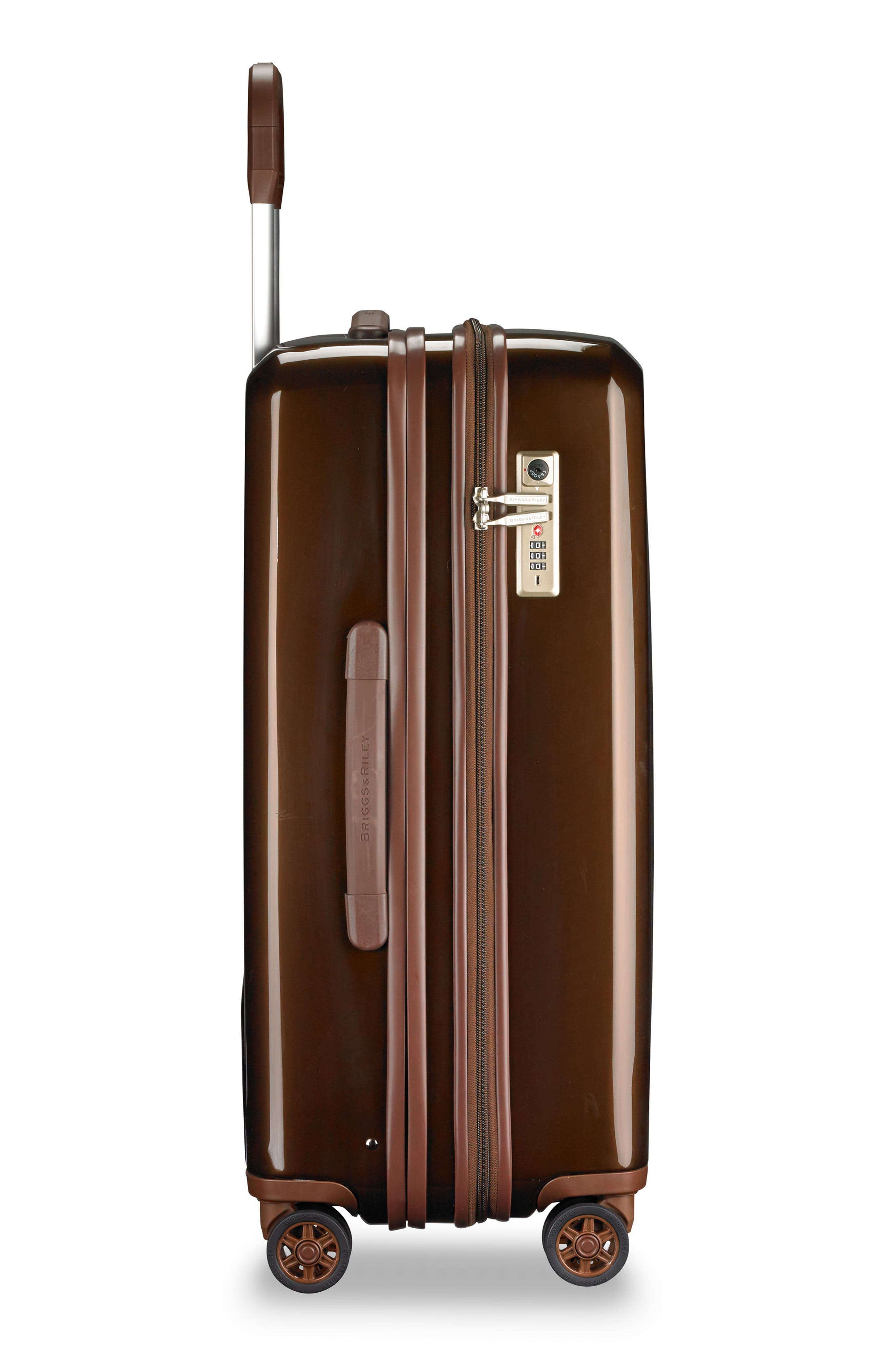 Sympatico 27-Inch Expandable Wheeled Packing Case,                             Alternate thumbnail 3, color,                             BRONZE