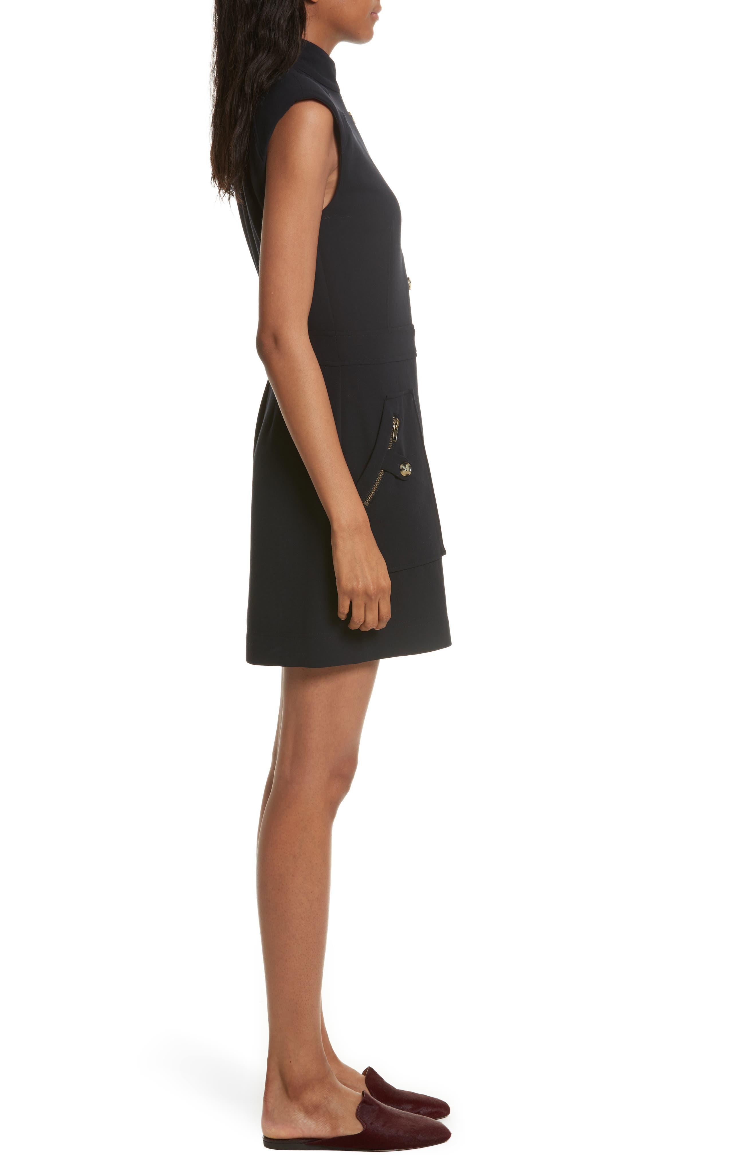 Leigh Mod Dress,                             Alternate thumbnail 3, color,                             414