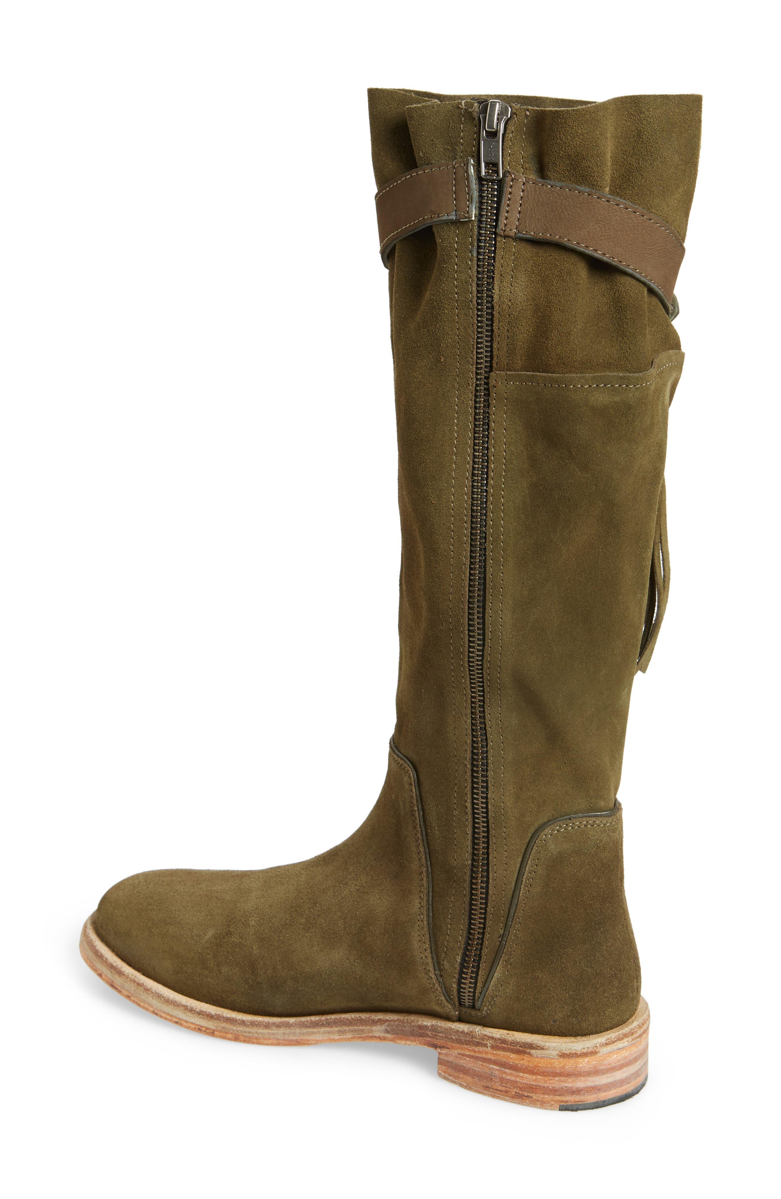 Sayre Fringe Knee High Boot,                             Alternate thumbnail 2, color,                             300