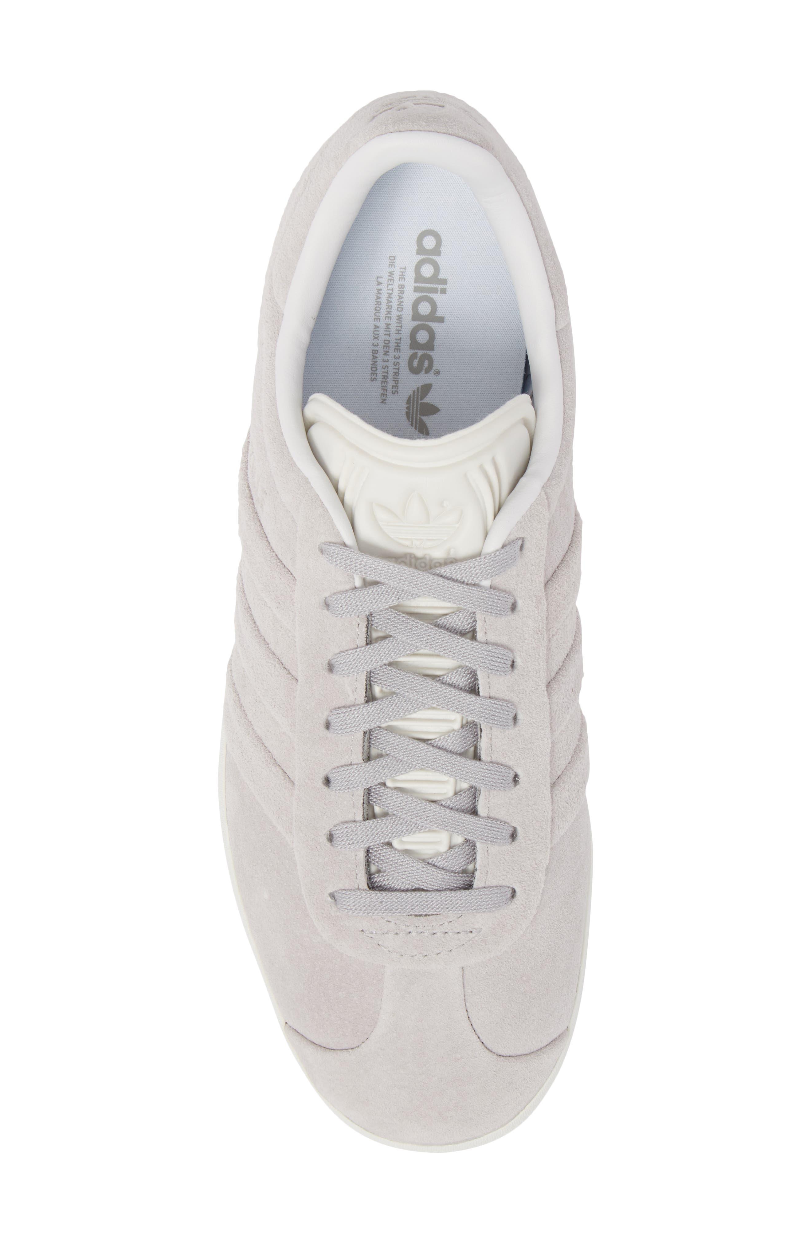 Gazelle Stitch & Turn Sneaker,                             Alternate thumbnail 5, color,                             GREY/ GREY/ WHITE
