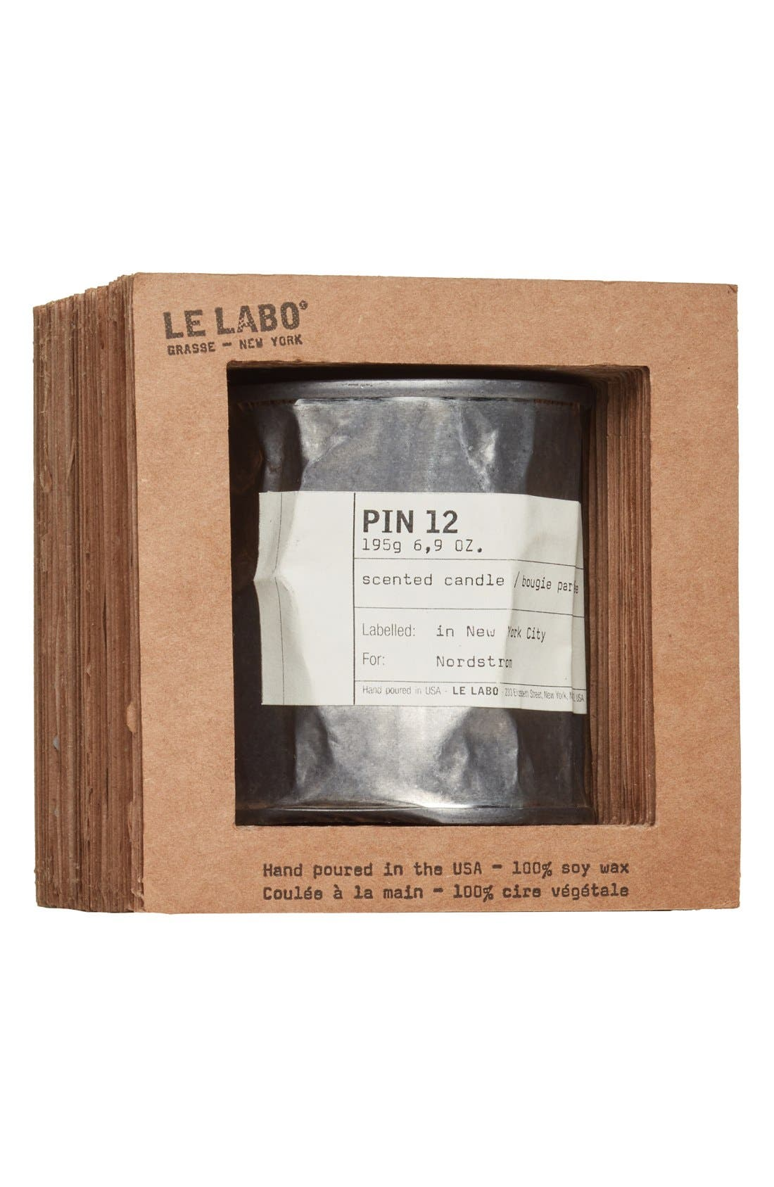 LE LABO,                             'Pin 12' Vintage Candle Tin,                             Alternate thumbnail 3, color,                             NO COLOR