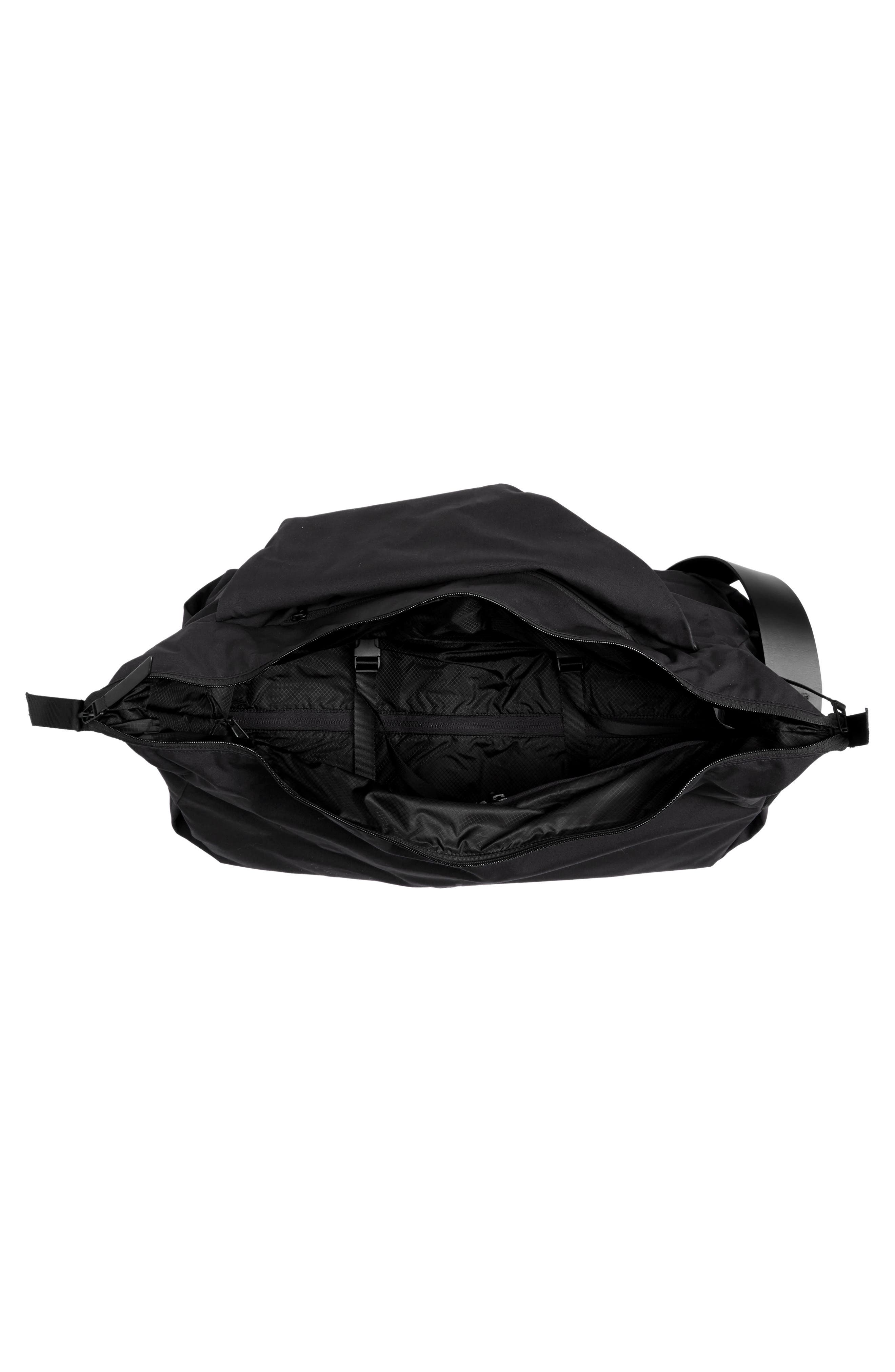 Lux Daily Duffel Bag,                             Alternate thumbnail 4, color,                             001