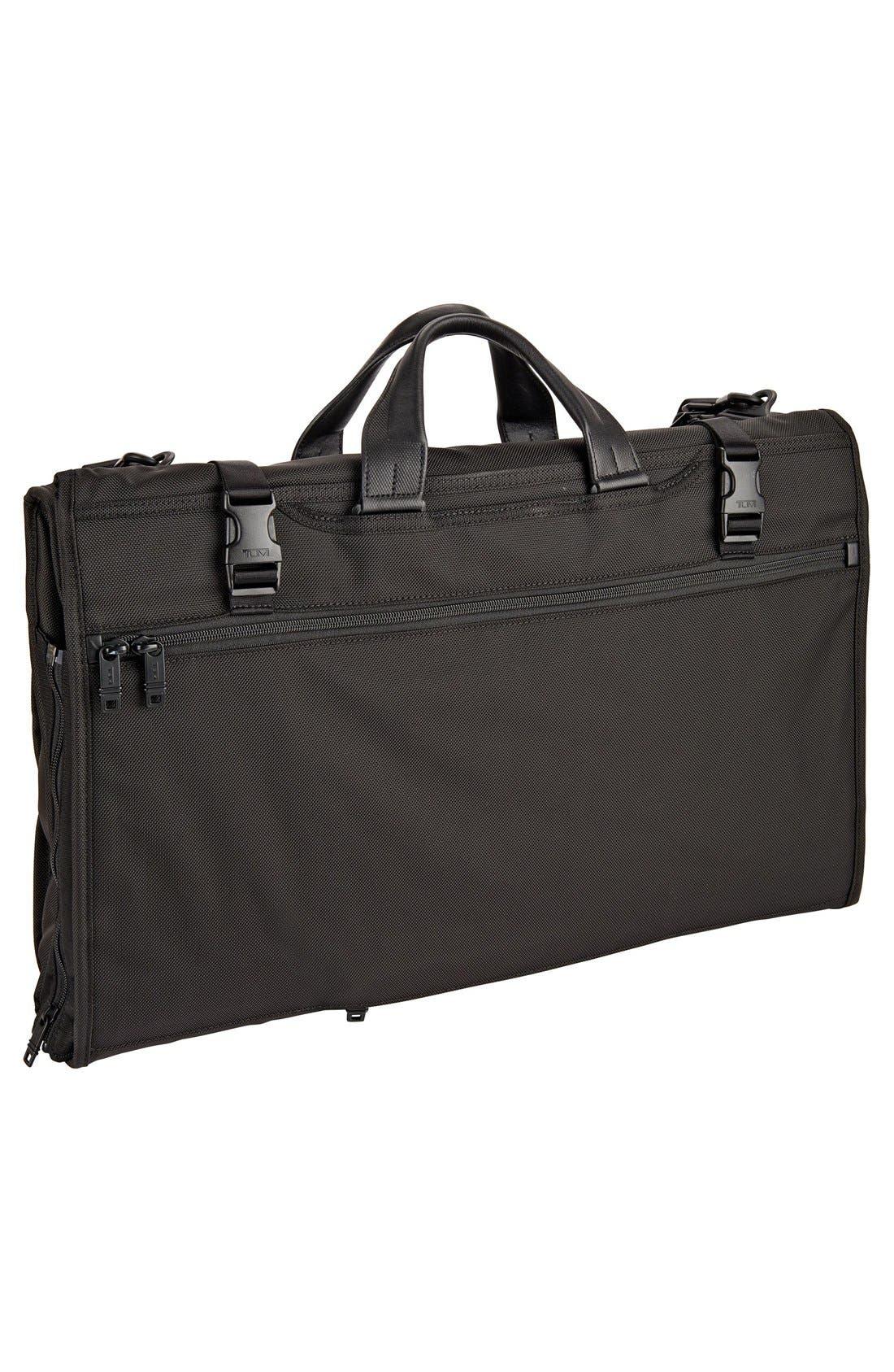 Alpha 2 22-Inch Trifold Carry-On Garment Bag,                             Alternate thumbnail 2, color,                             BLACK