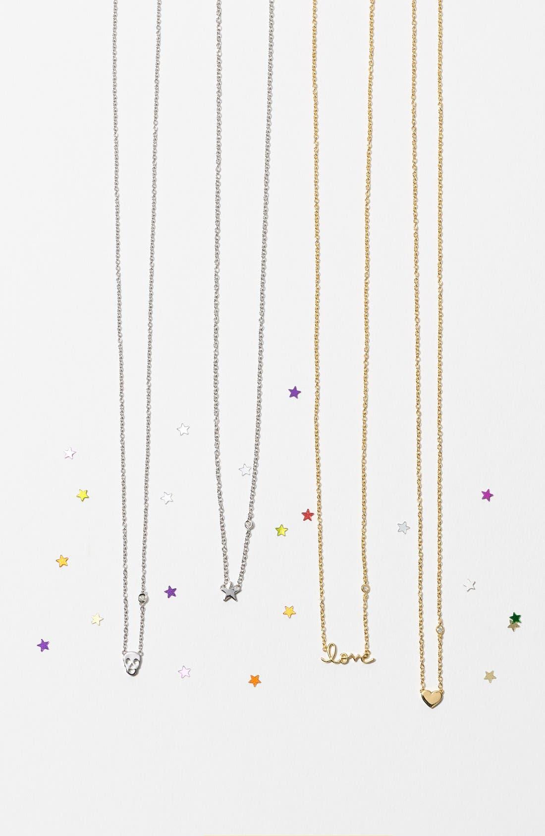 Love Necklace,                             Alternate thumbnail 3, color,                             GOLD