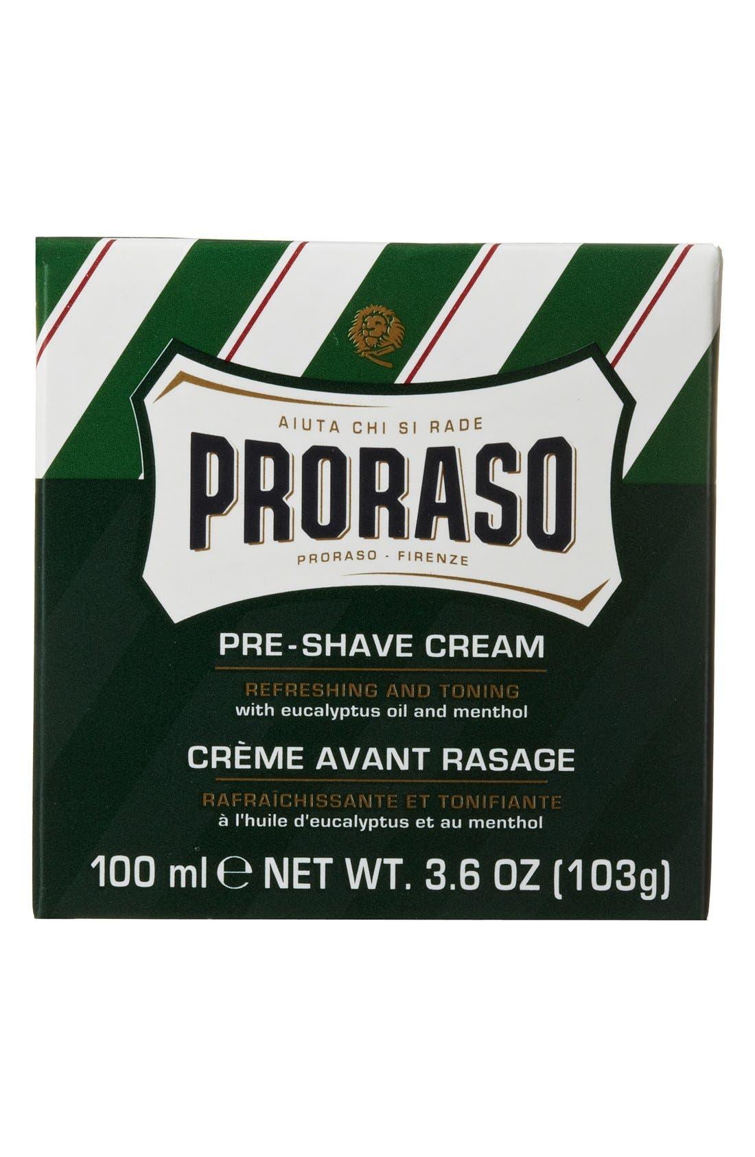 'Proraso' Refresh Pre-Shave Cream,                             Alternate thumbnail 6, color,                             000