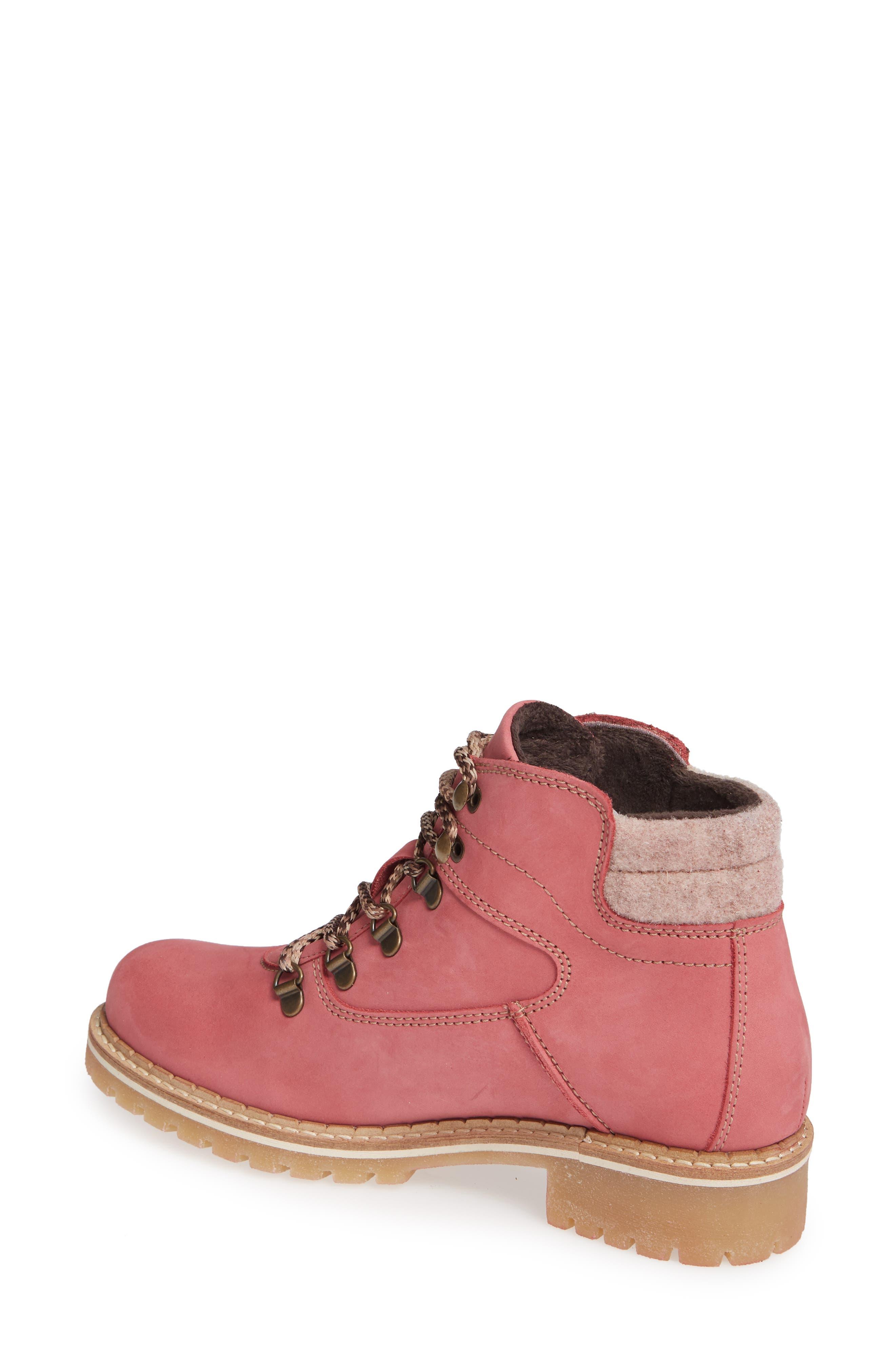 Hartney Waterproof Boot,                             Alternate thumbnail 2, color,                             ROSA WOOL