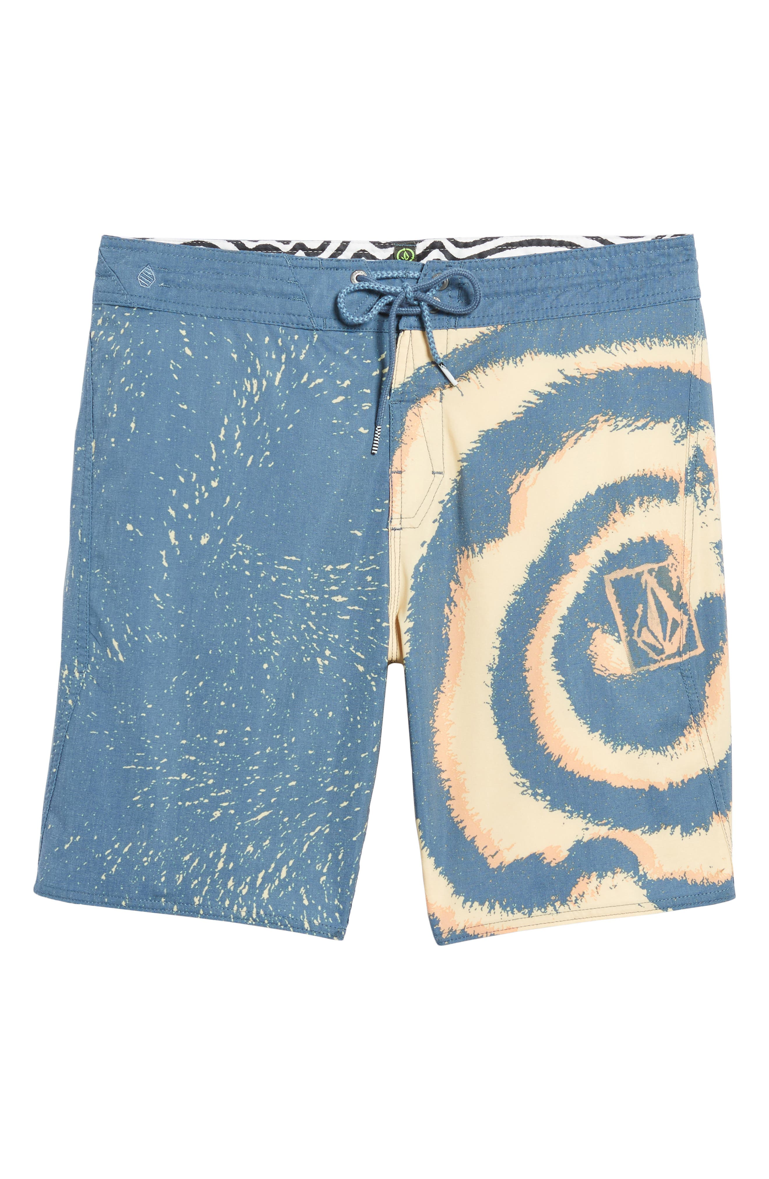 VOLCOM,                             Psyched Stoney Swim Trunks,                             Alternate thumbnail 6, color,                             400