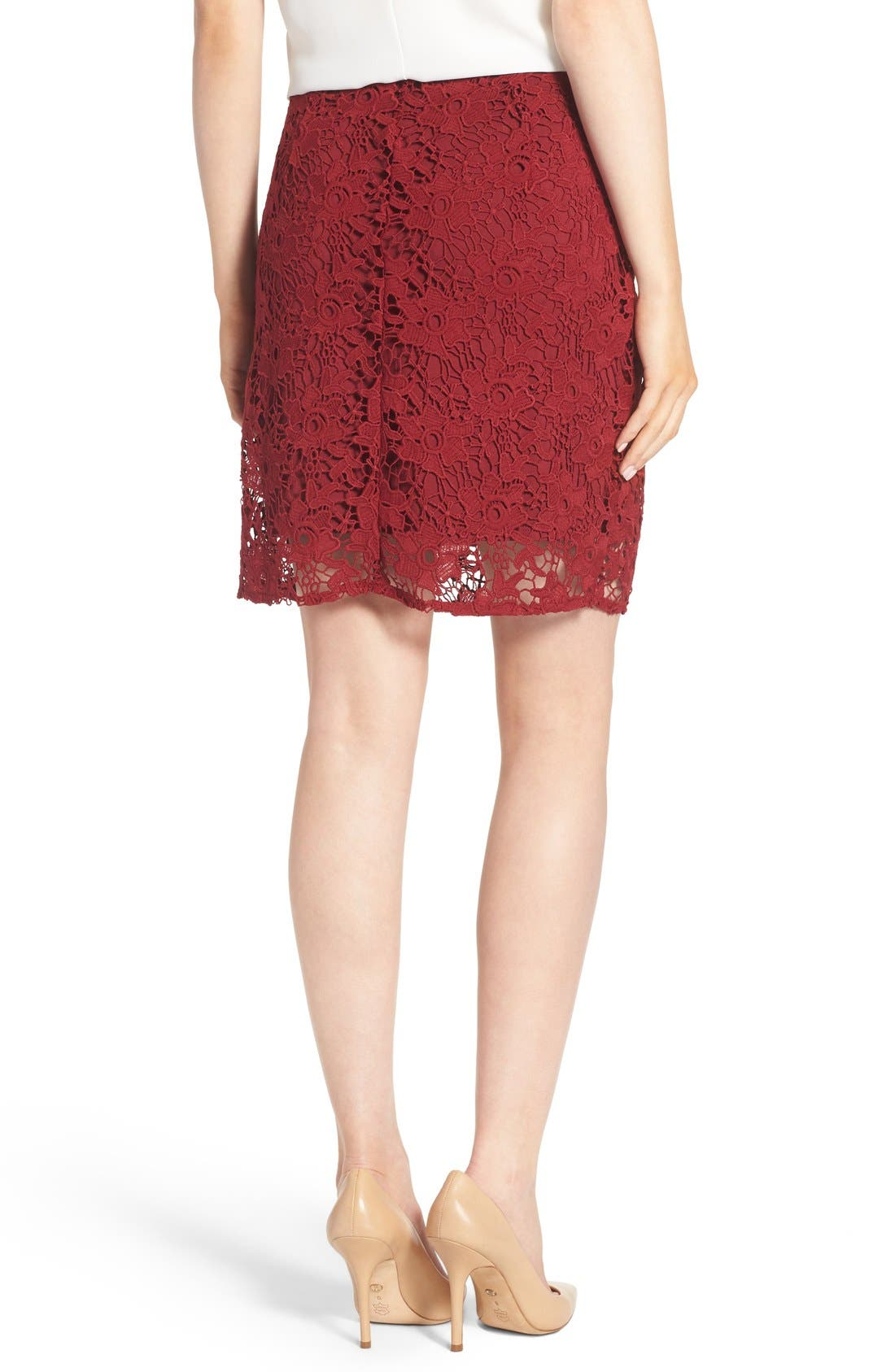 Lace Skirt,                             Alternate thumbnail 3, color,                             601
