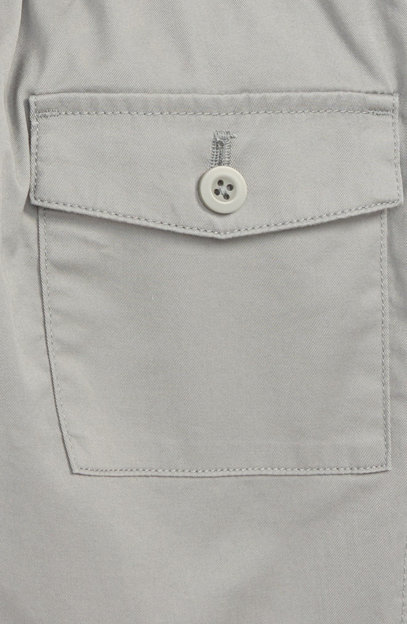 Stretch Pull-On Shorts,                             Alternate thumbnail 3, color,                             020