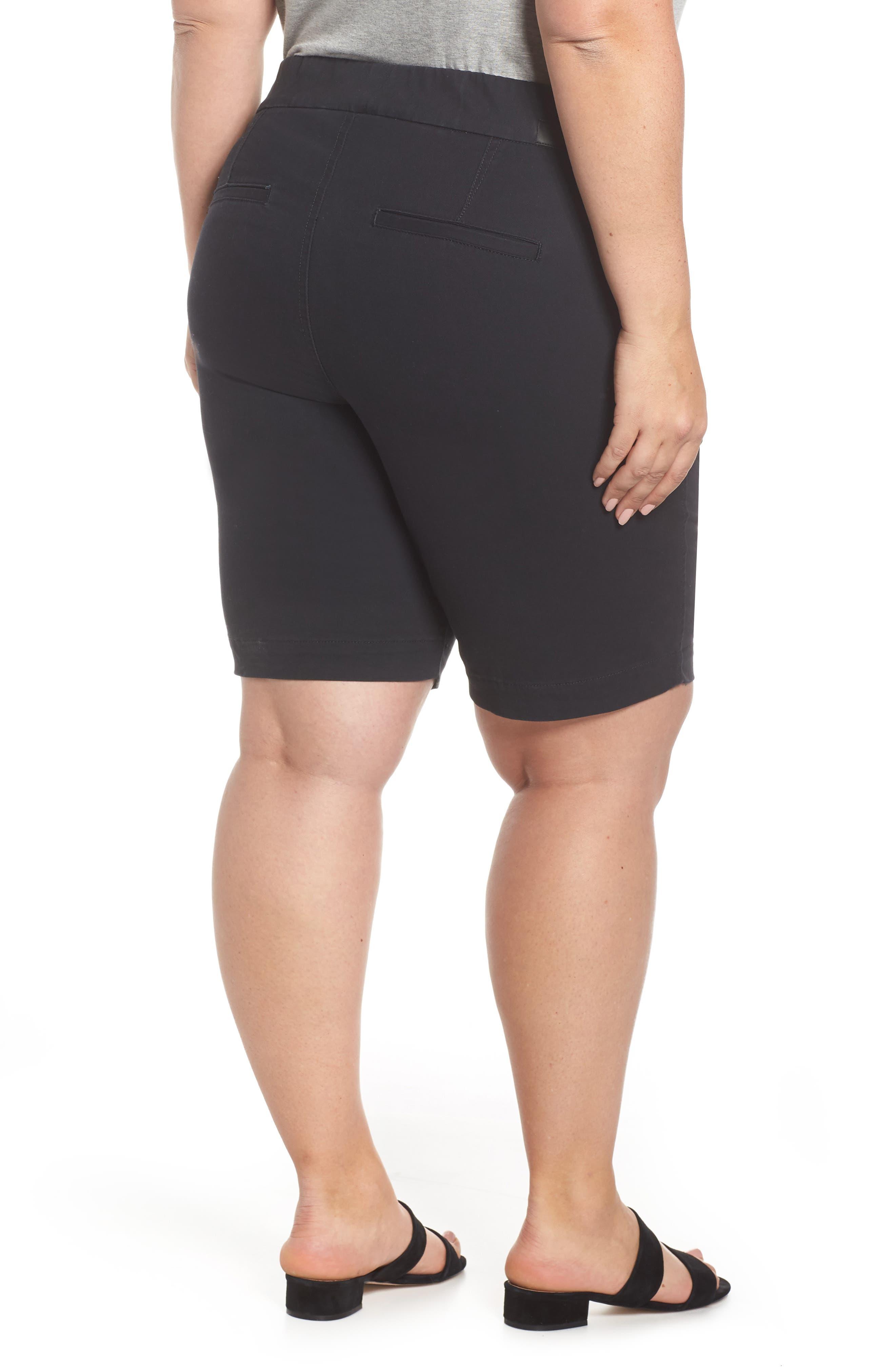 JAG JEANS,                             Gracie Bermuda Shorts,                             Alternate thumbnail 2, color,                             BLACK