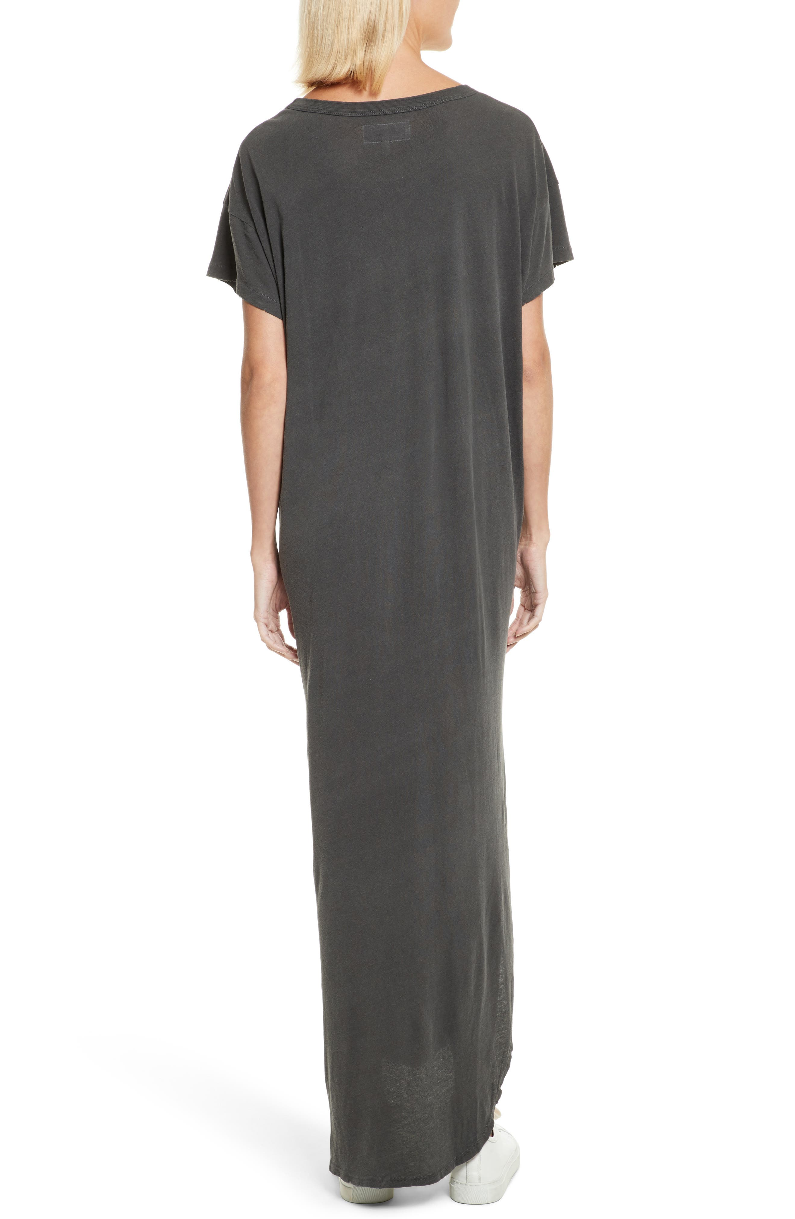 The Knotted Tee Dress,                             Alternate thumbnail 2, color,                             001