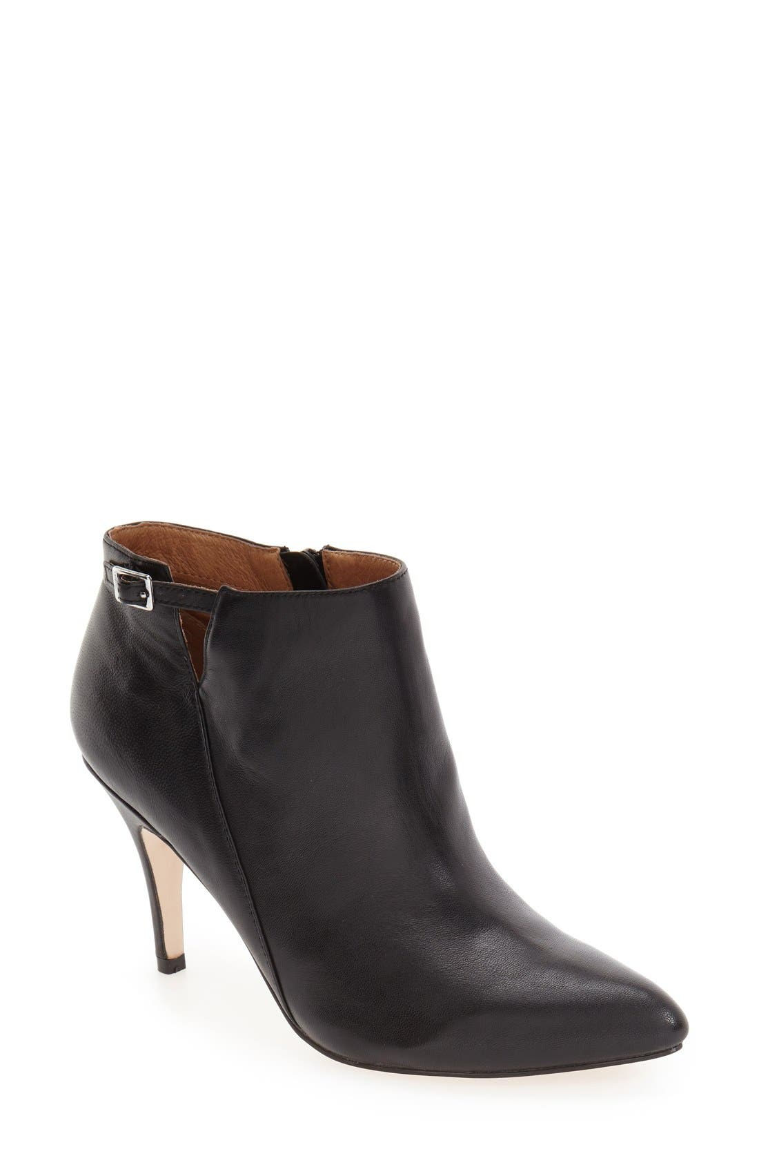 'Roster' Pointy Toe Bootie,                             Main thumbnail 1, color,                             001