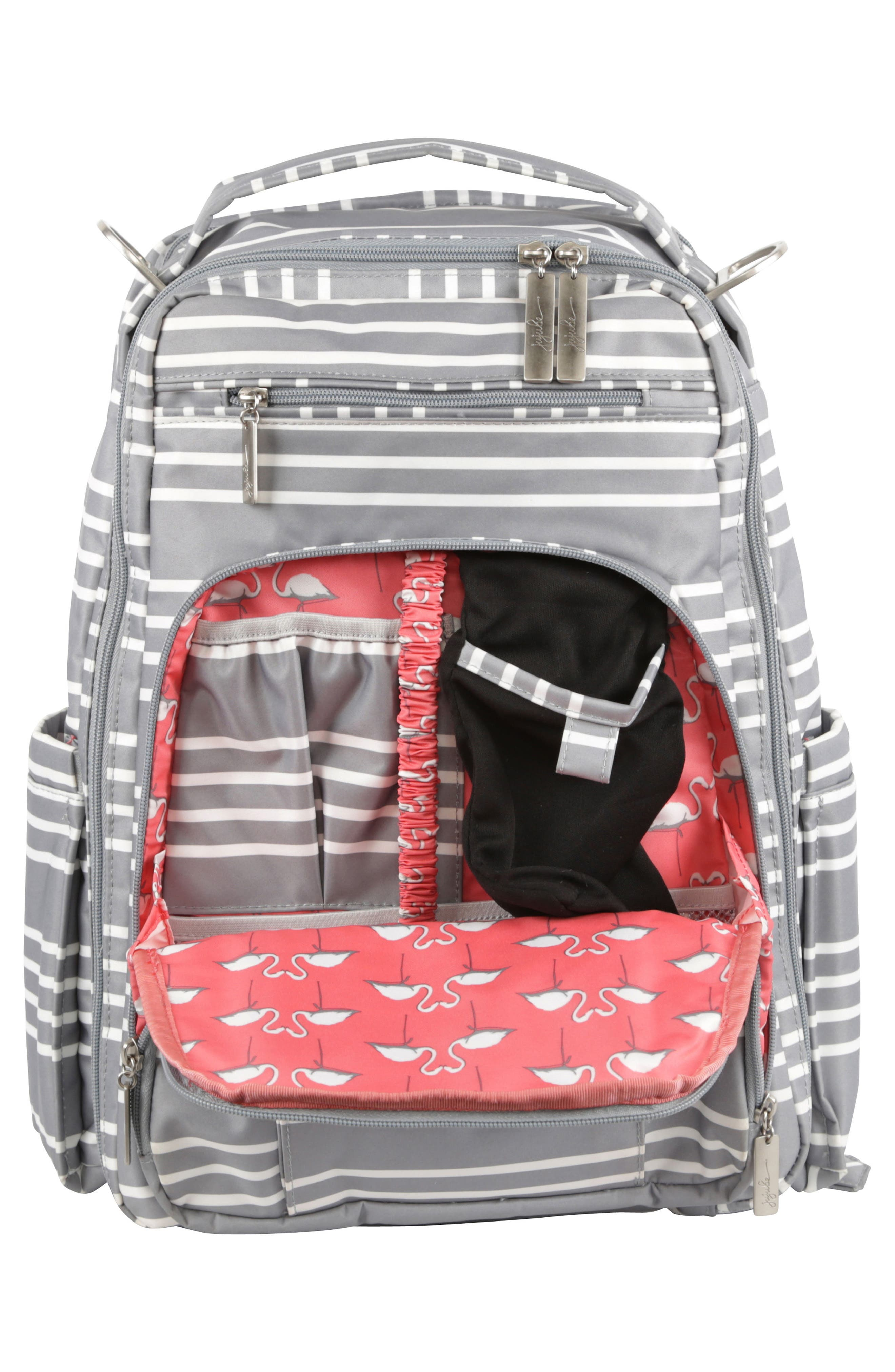 Be Right Back - Coastal Collection Diaper Backpack,                             Alternate thumbnail 3, color,                             042