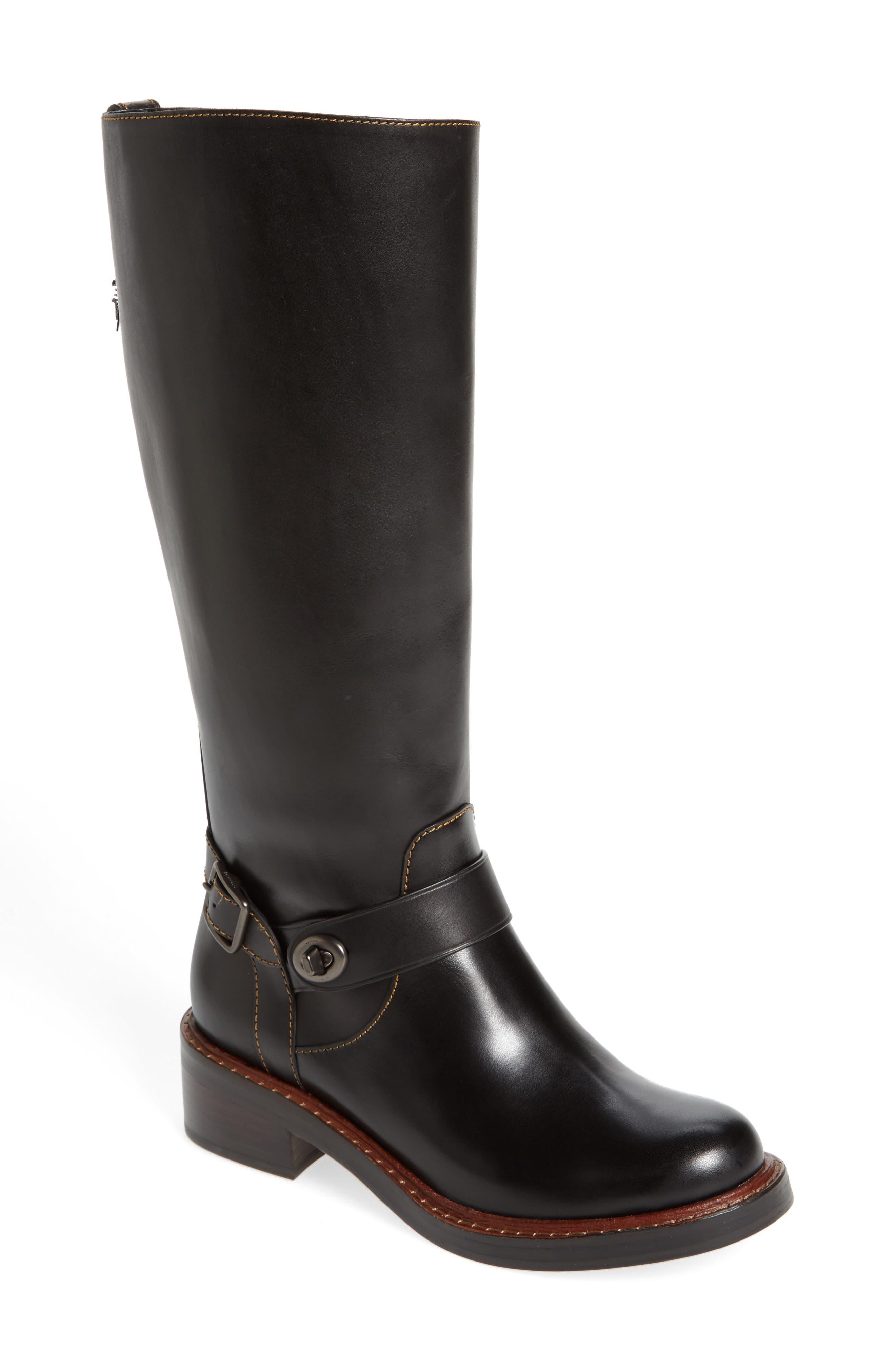 Sutton Riding Boot,                         Main,                         color, 001