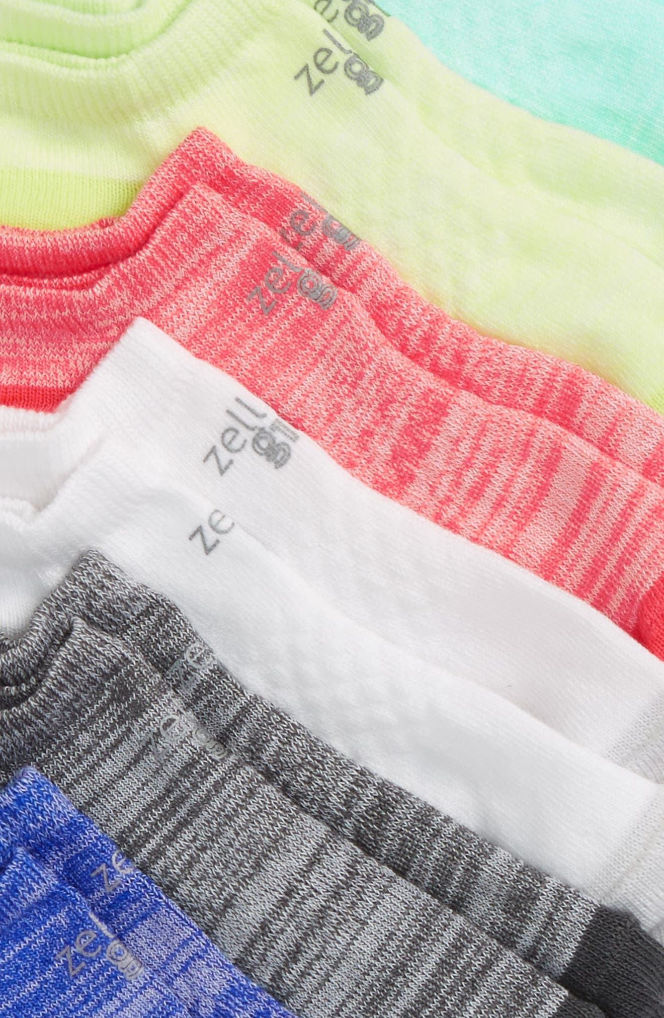 6-Pack Ankle Socks,                             Alternate thumbnail 18, color,