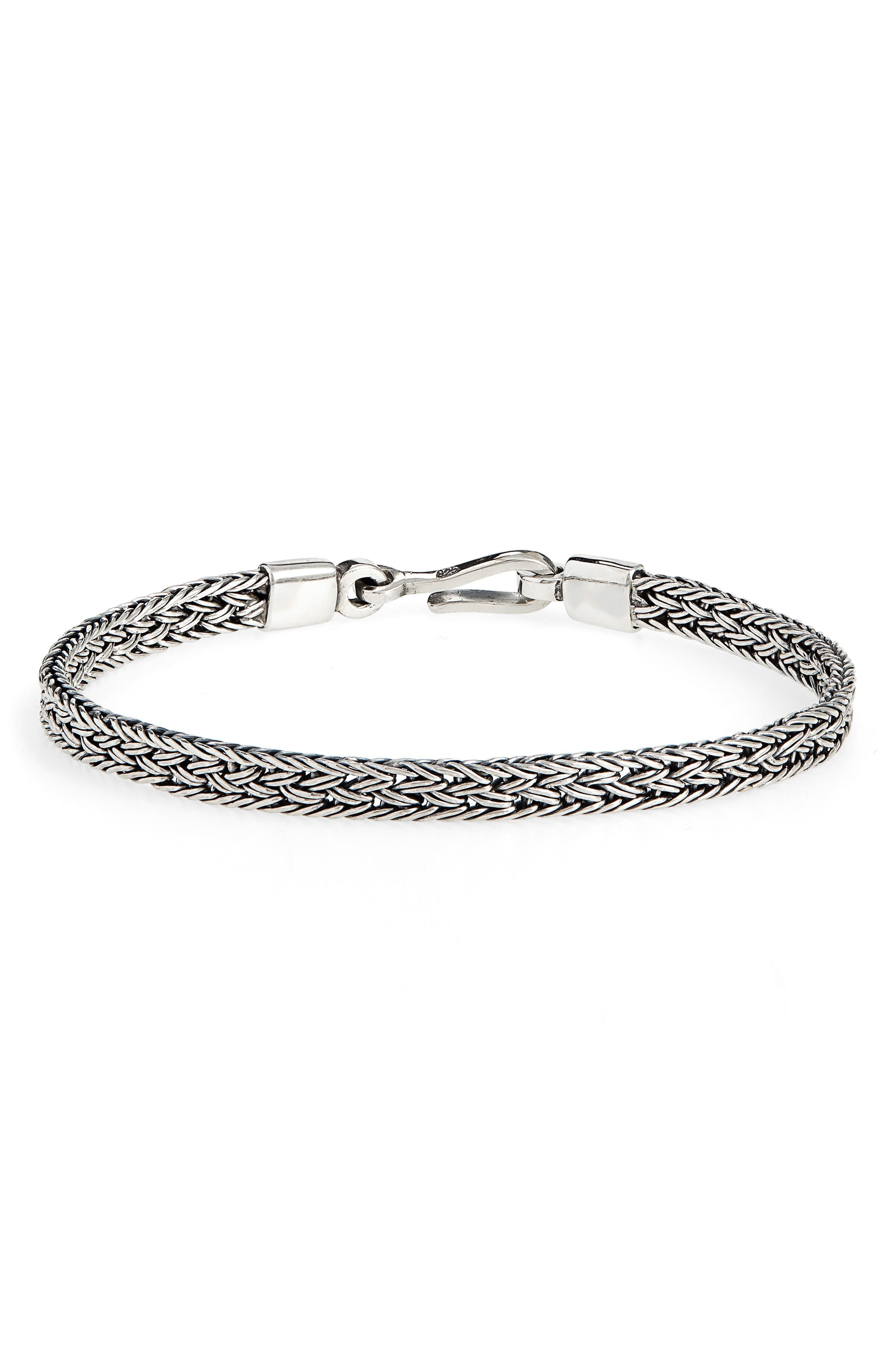 CAPUTO & CO. Artisan Silver Chain Bracelet in Sterling Silver
