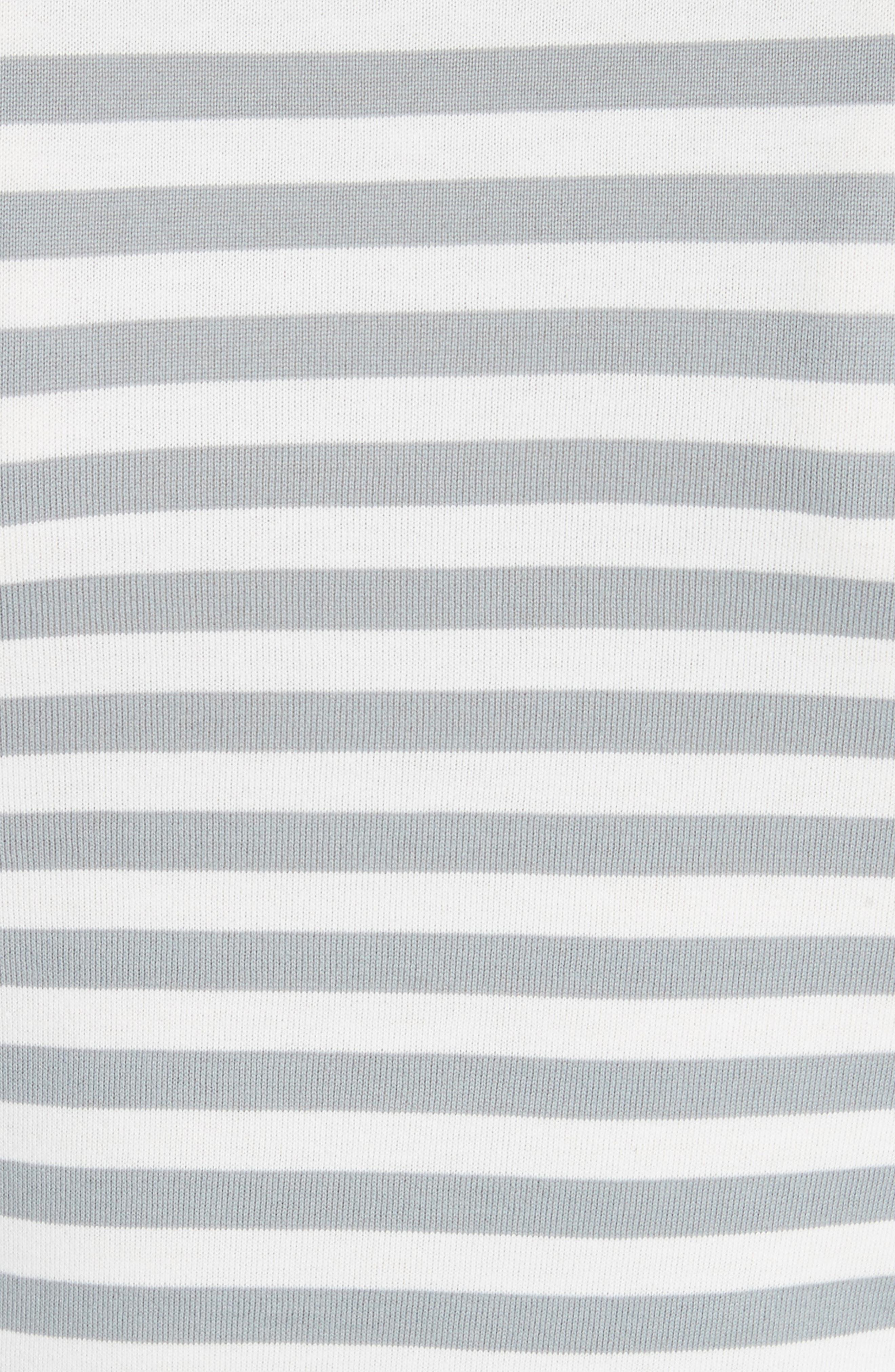PLAY Stripe Tee,                             Alternate thumbnail 5, color,                             GREY