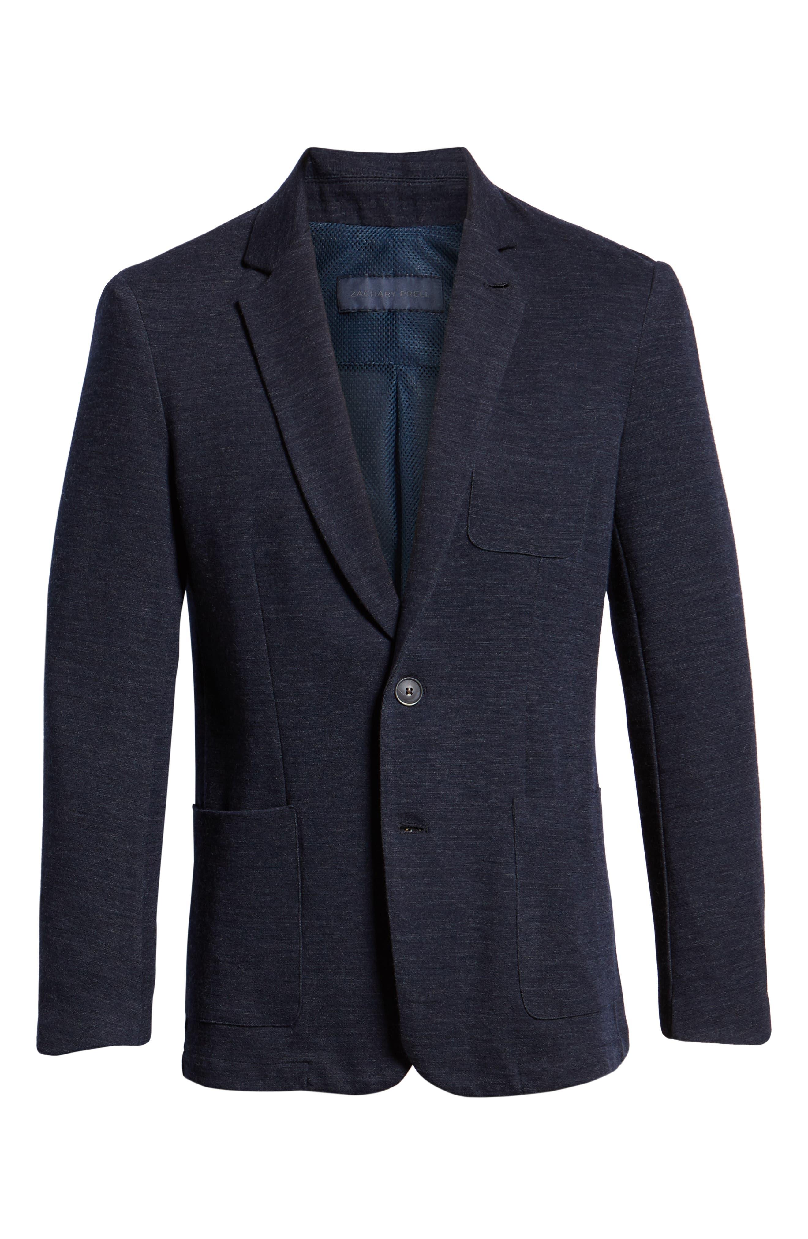 Granite Regular Fit Knit Sport Coat,                             Alternate thumbnail 5, color,                             410