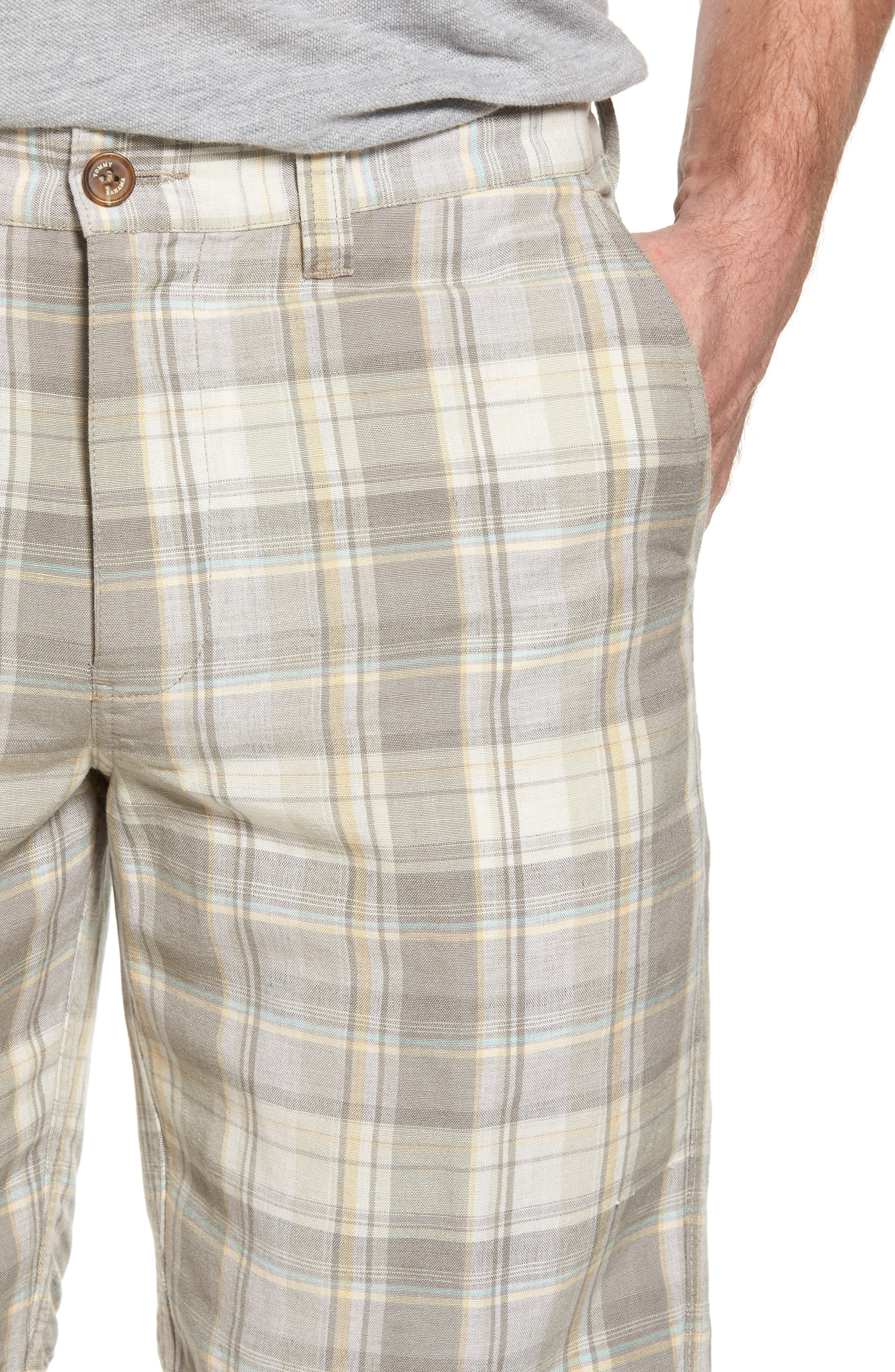 Coastal Dunes Plaid Shorts,                             Alternate thumbnail 4, color,                             250