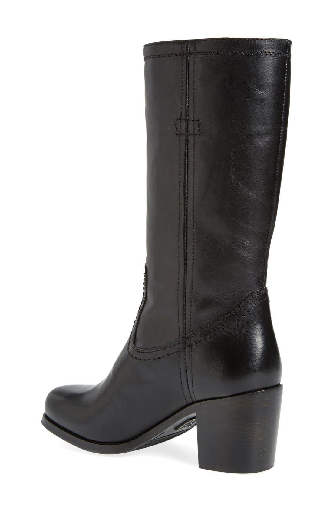 FRYE,                             'Kendall' Boot,                             Alternate thumbnail 2, color,                             001
