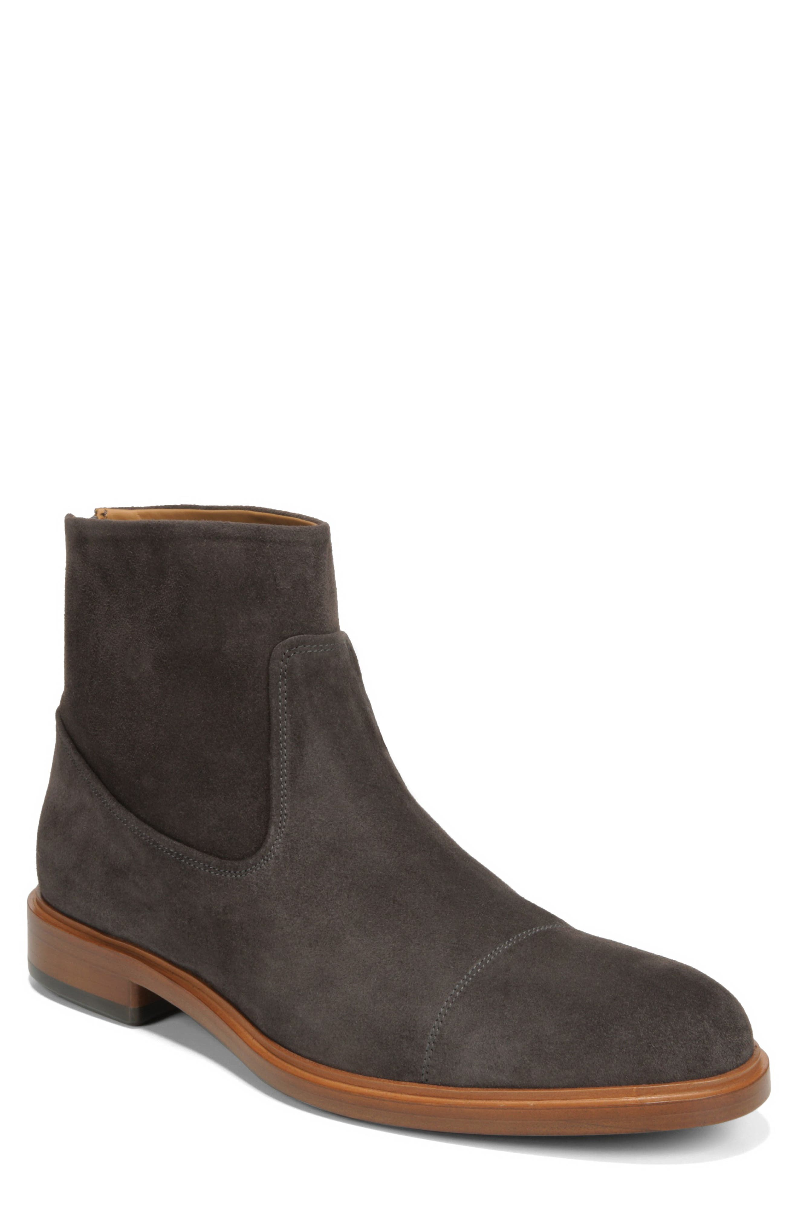 Vince Beckett Zip Boot- Grey