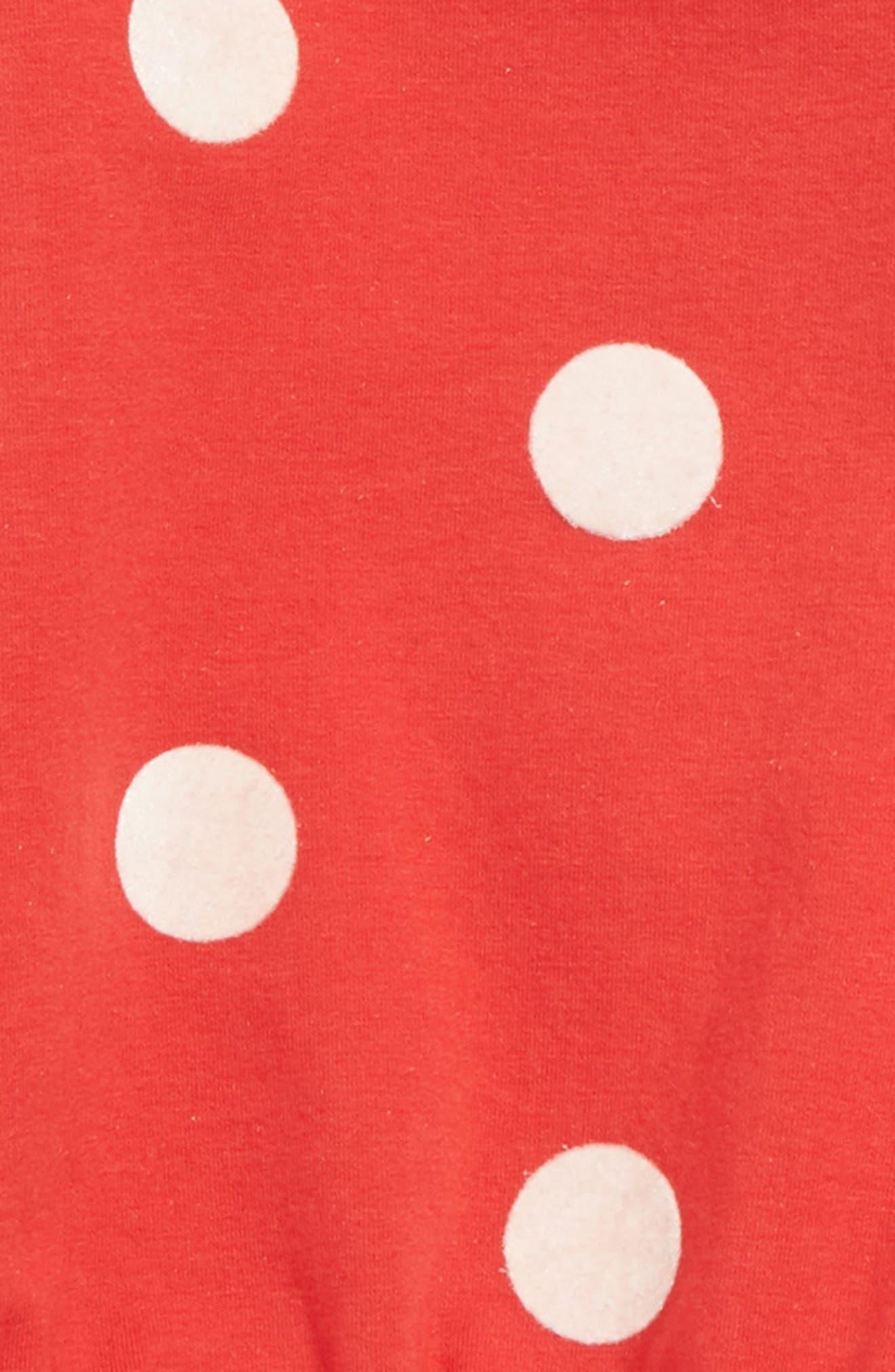 Cozy Polka Dot Tunic & Leggings Set,                             Alternate thumbnail 2, color,                             610