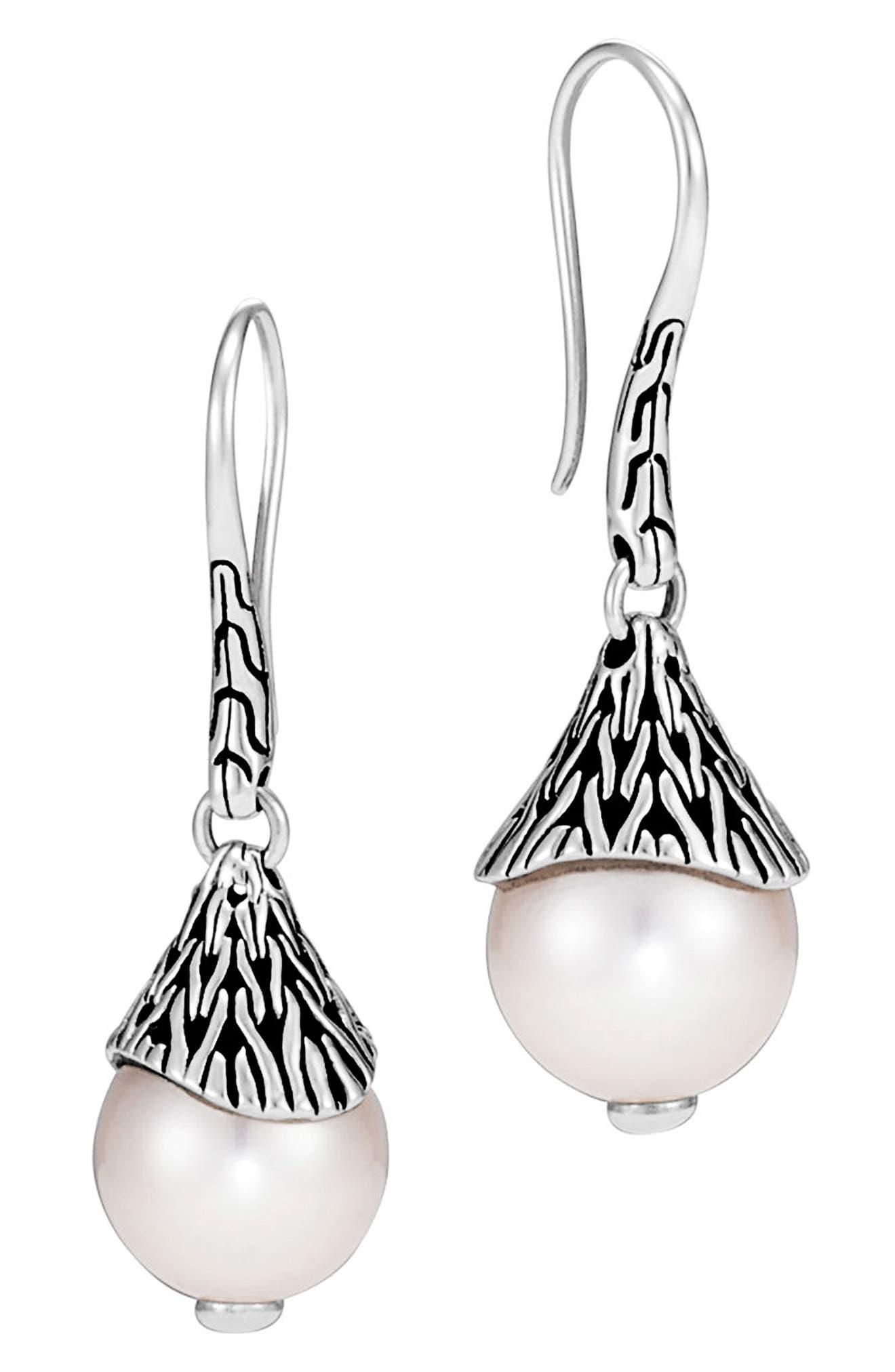 Classic Chain Drop Earrings,                             Main thumbnail 1, color,                             040