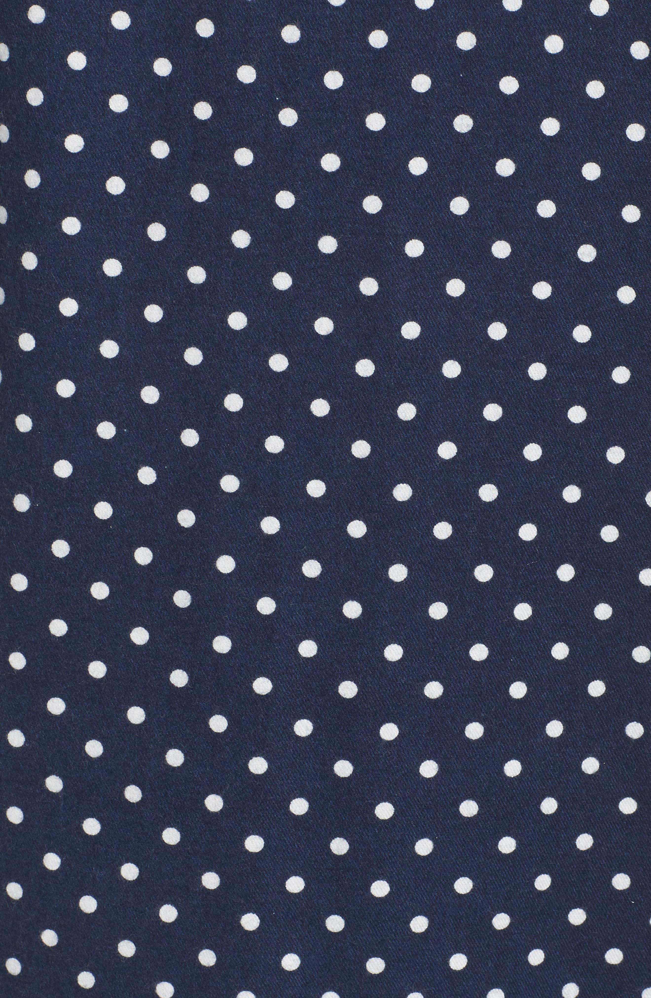 Cotton Twill Pajamas,                             Alternate thumbnail 5, color,                             414
