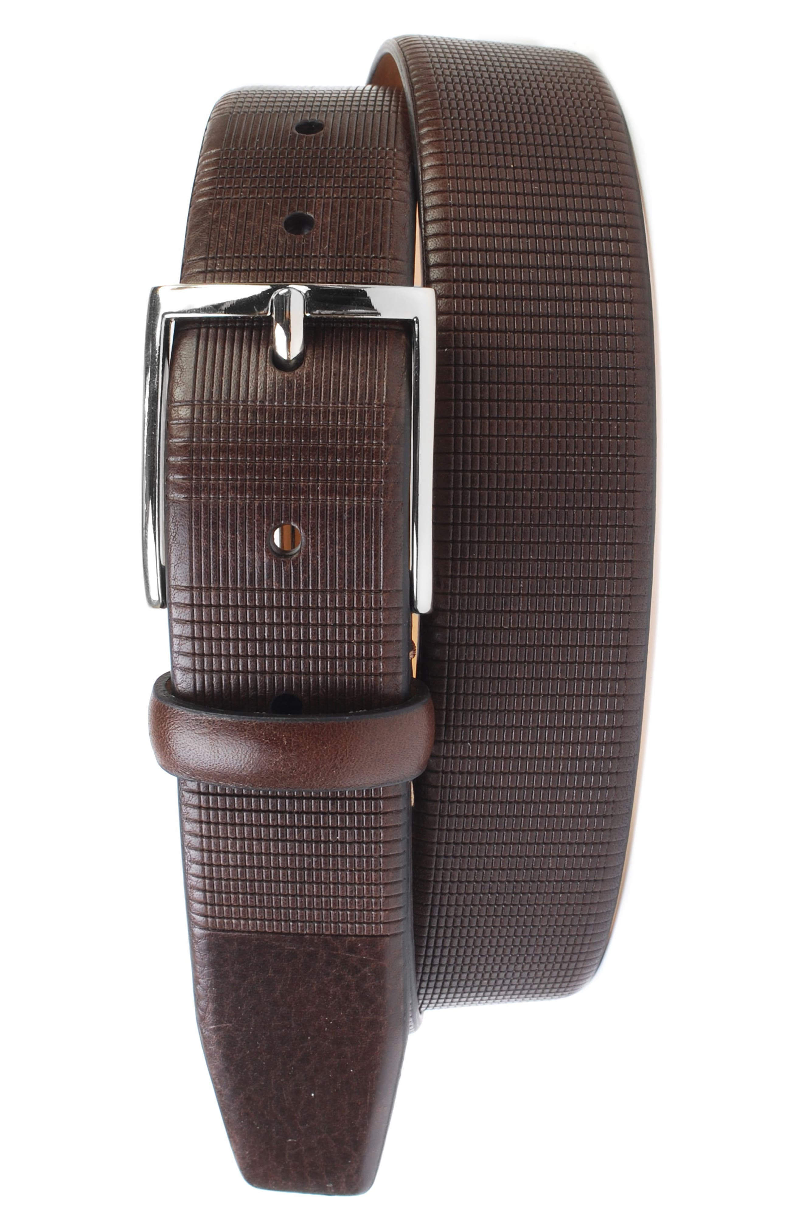 Howell Leather Belt,                             Main thumbnail 2, color,