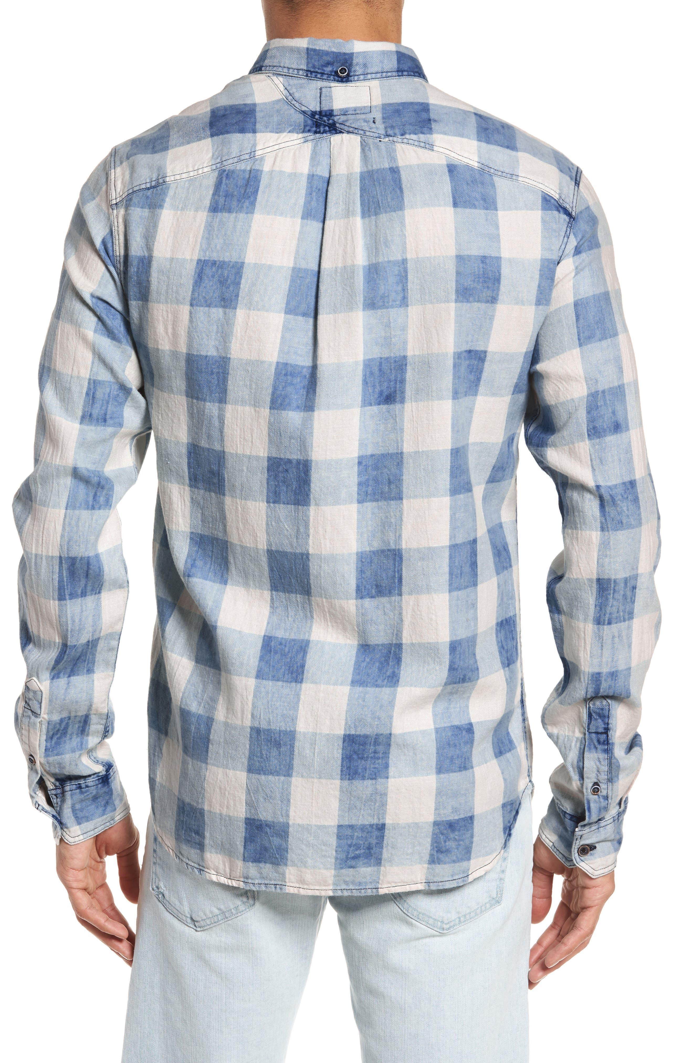 Amsterdams Blauw Check Shirt,                             Alternate thumbnail 2, color,                             400