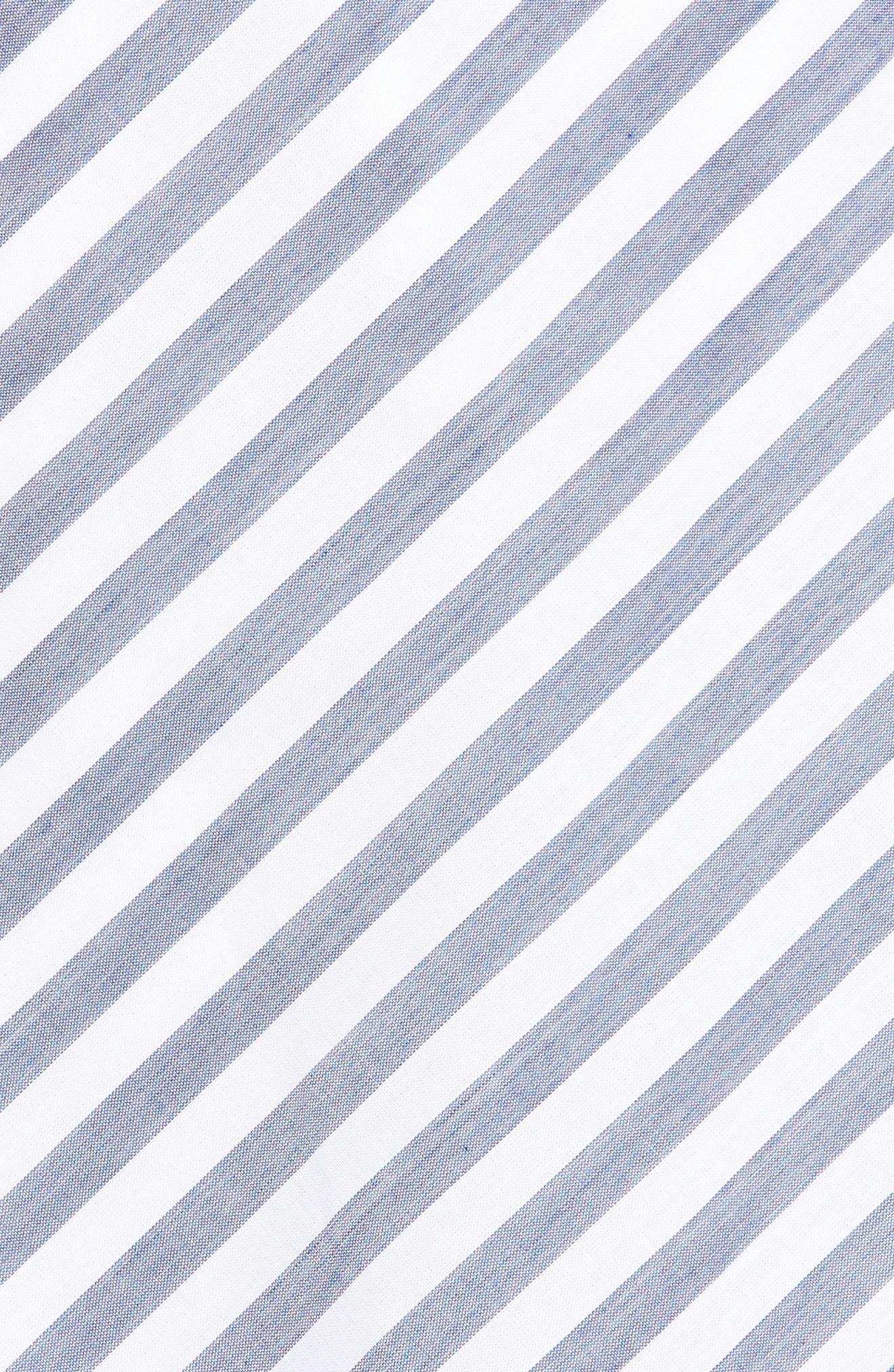 BP.,                             Tie Waist Handkerchief Hem Skirt,                             Alternate thumbnail 5, color,                             410