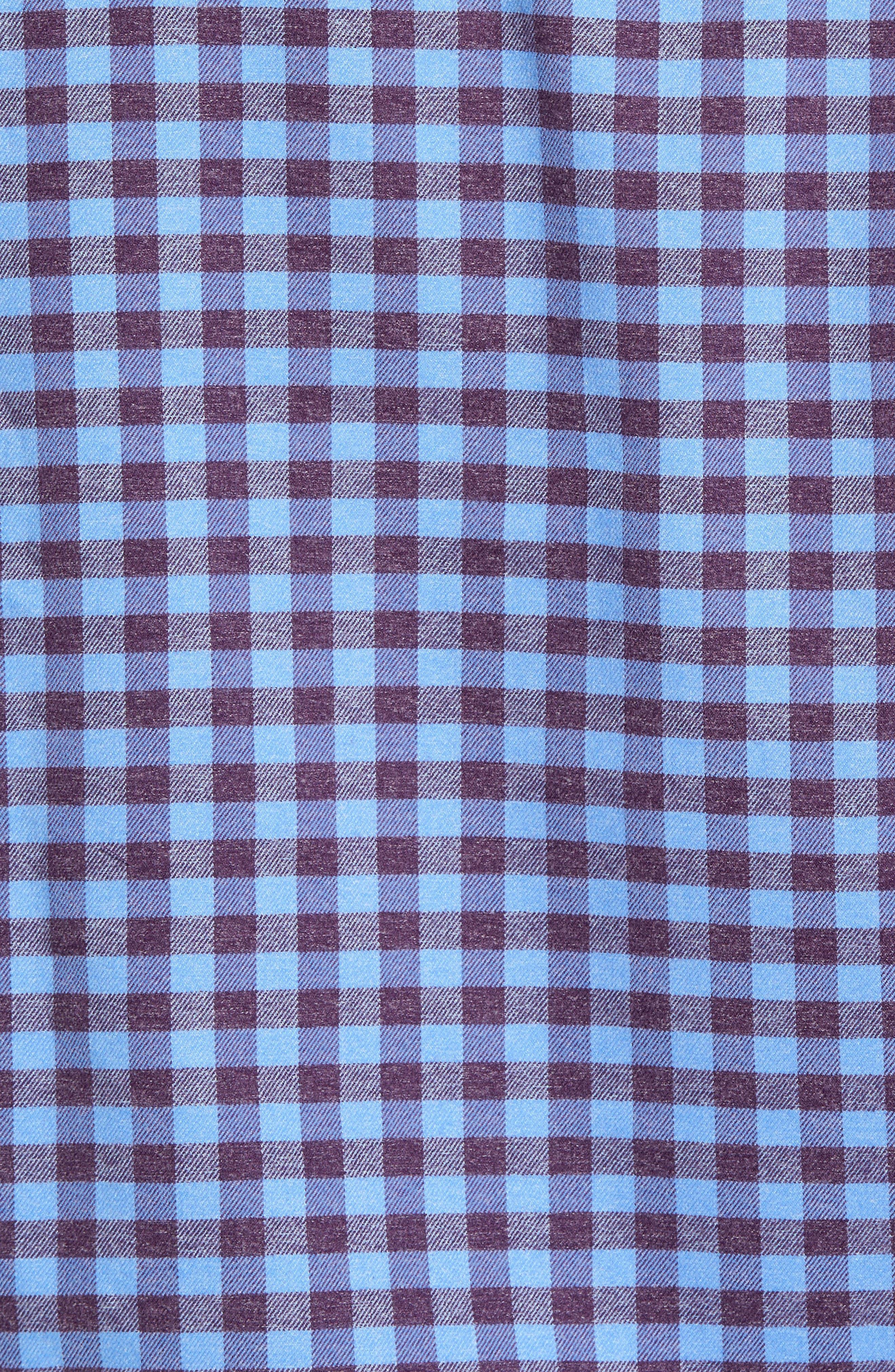 Vedder Gingham Regular Fit Performance Sport Shirt,                             Alternate thumbnail 15, color,