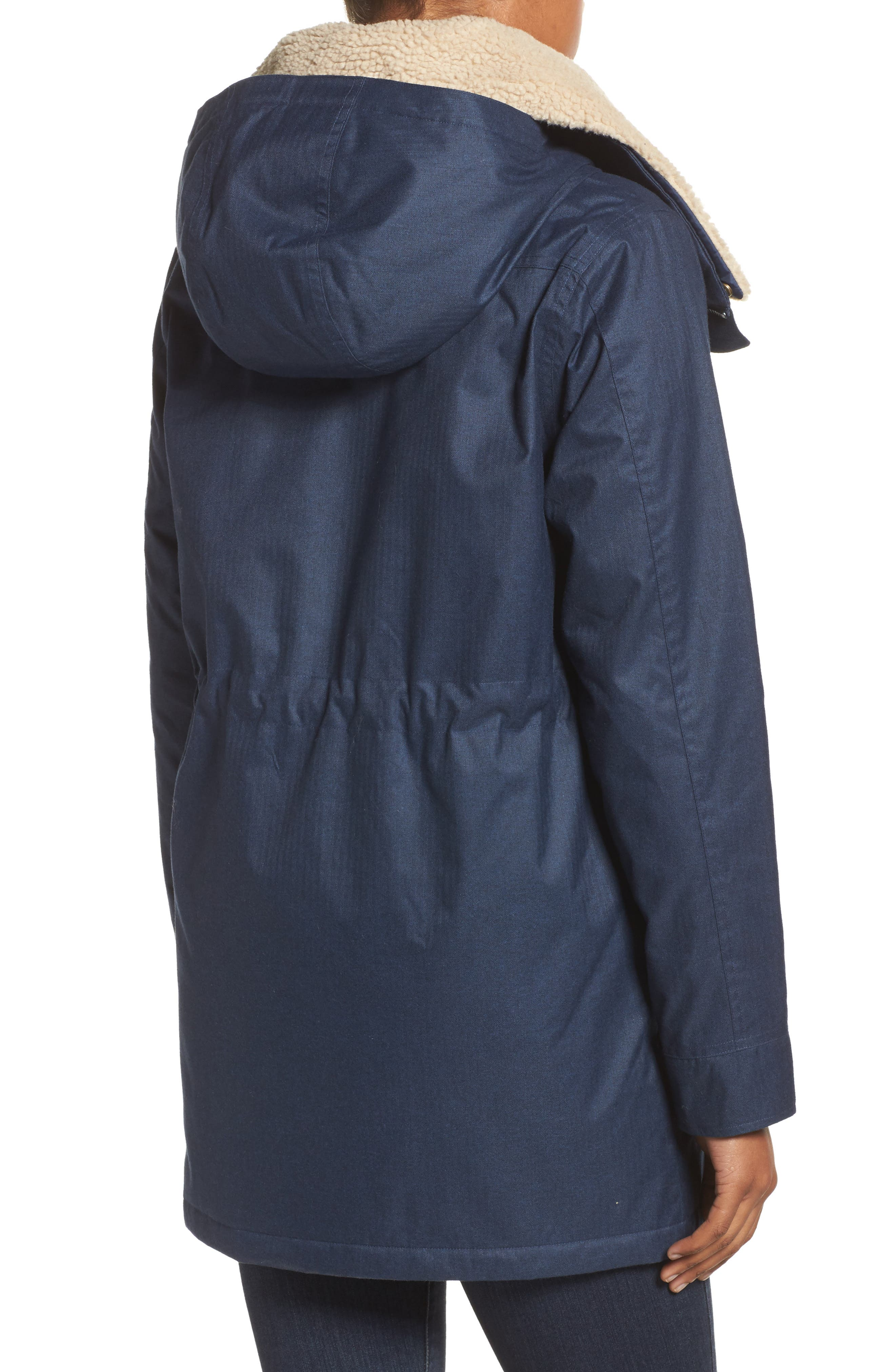 Hazelton Water-Resistant Hooded Jacket with Removable Fleece Lining,                             Alternate thumbnail 2, color,                             400