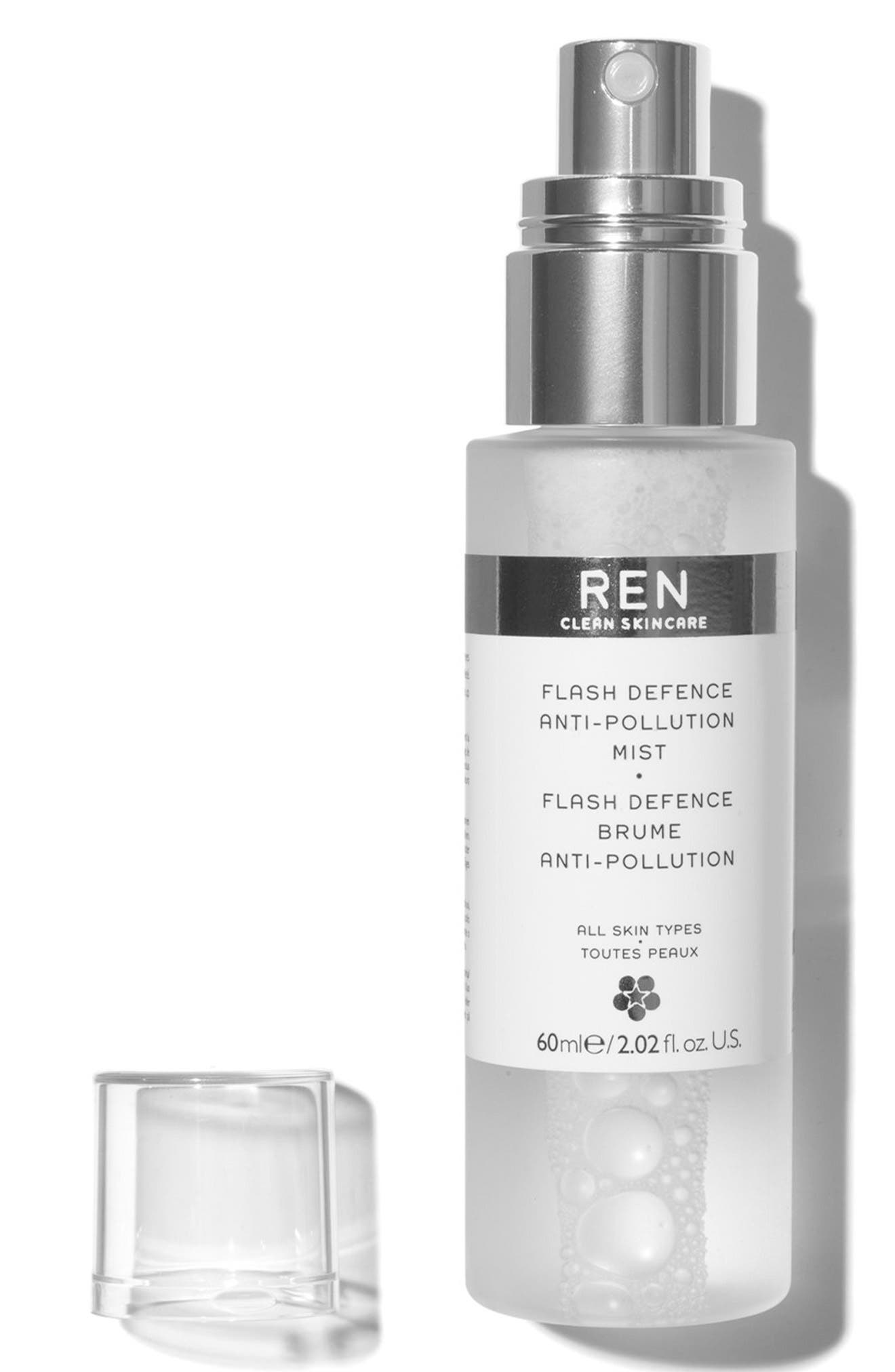 SPACE.NK.apothecary REN Flash Defence Anti-Pollution Mist,                             Alternate thumbnail 2, color,                             NO COLOR