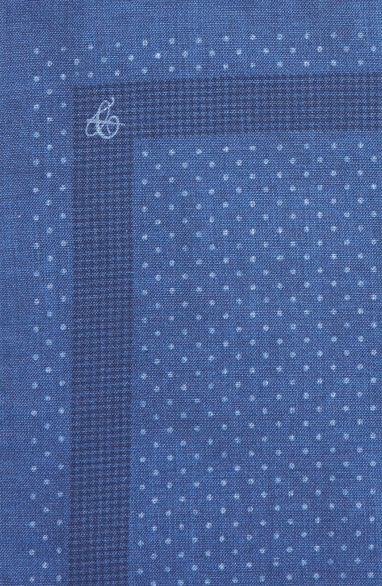 Dot Silk Pocket Square,                             Alternate thumbnail 3, color,                             400