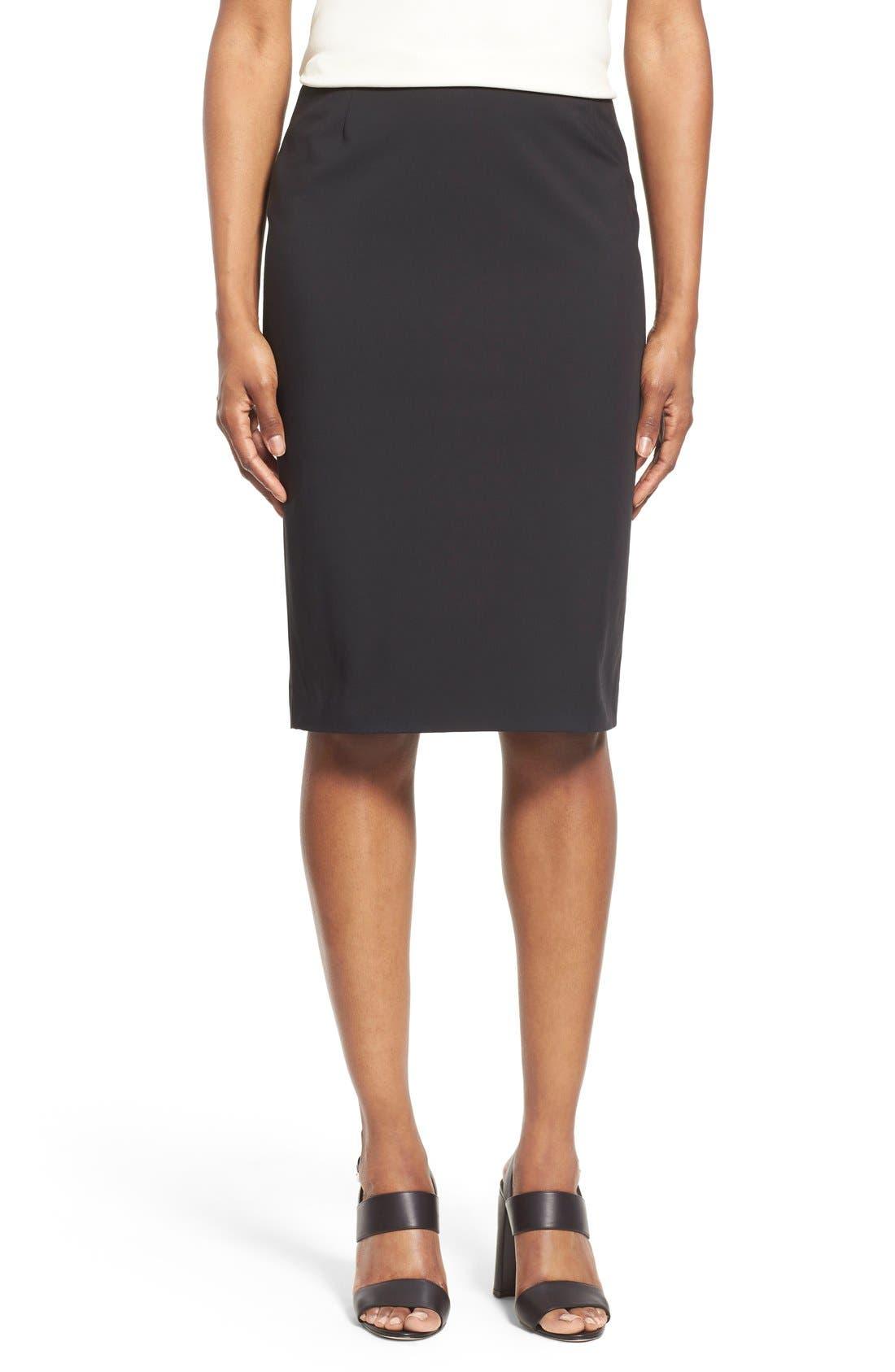 Pencil Skirt,                             Main thumbnail 1, color,                             001