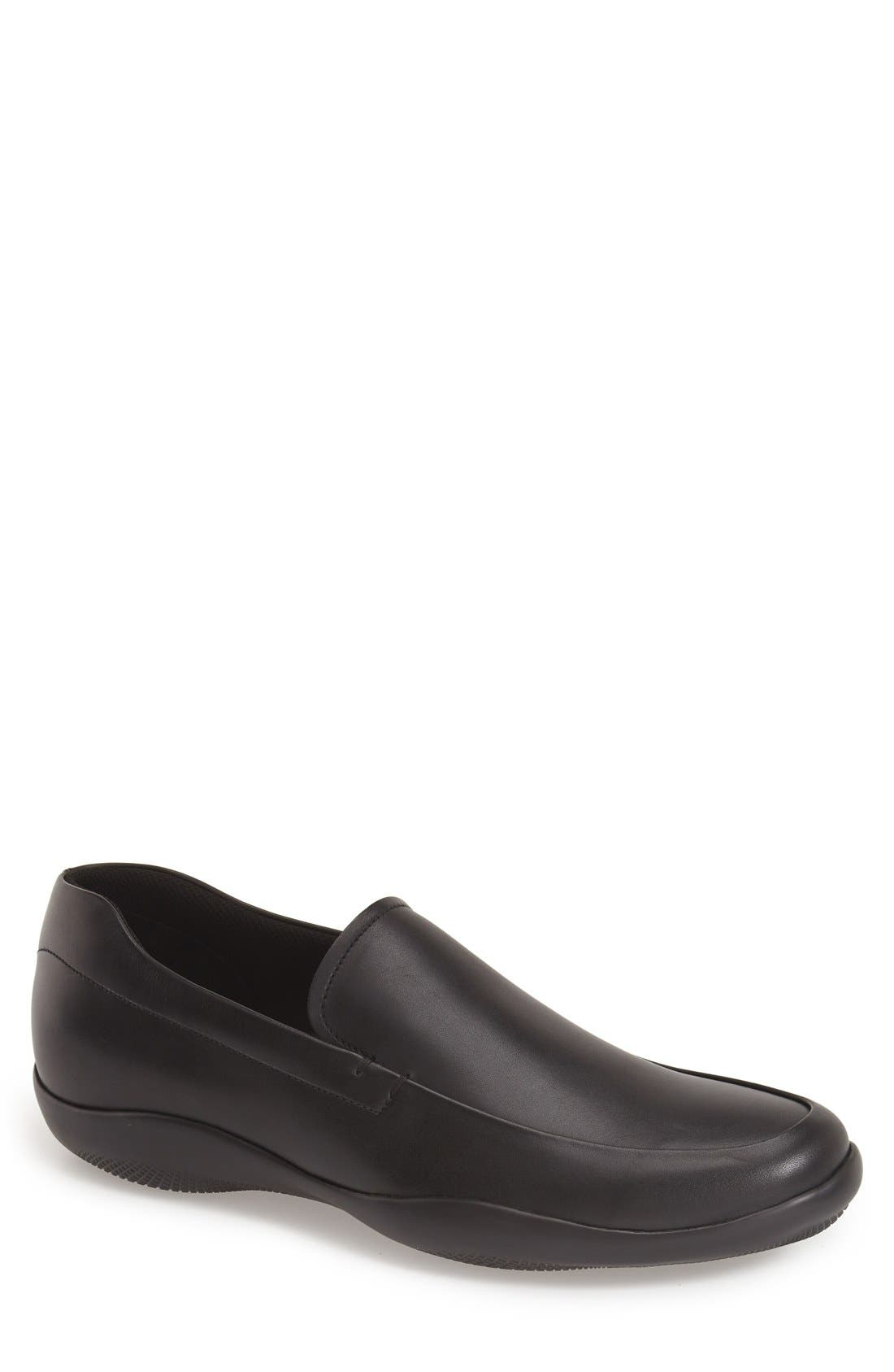 'New Toblak' Venetian Loafer,                             Main thumbnail 1, color,                             001