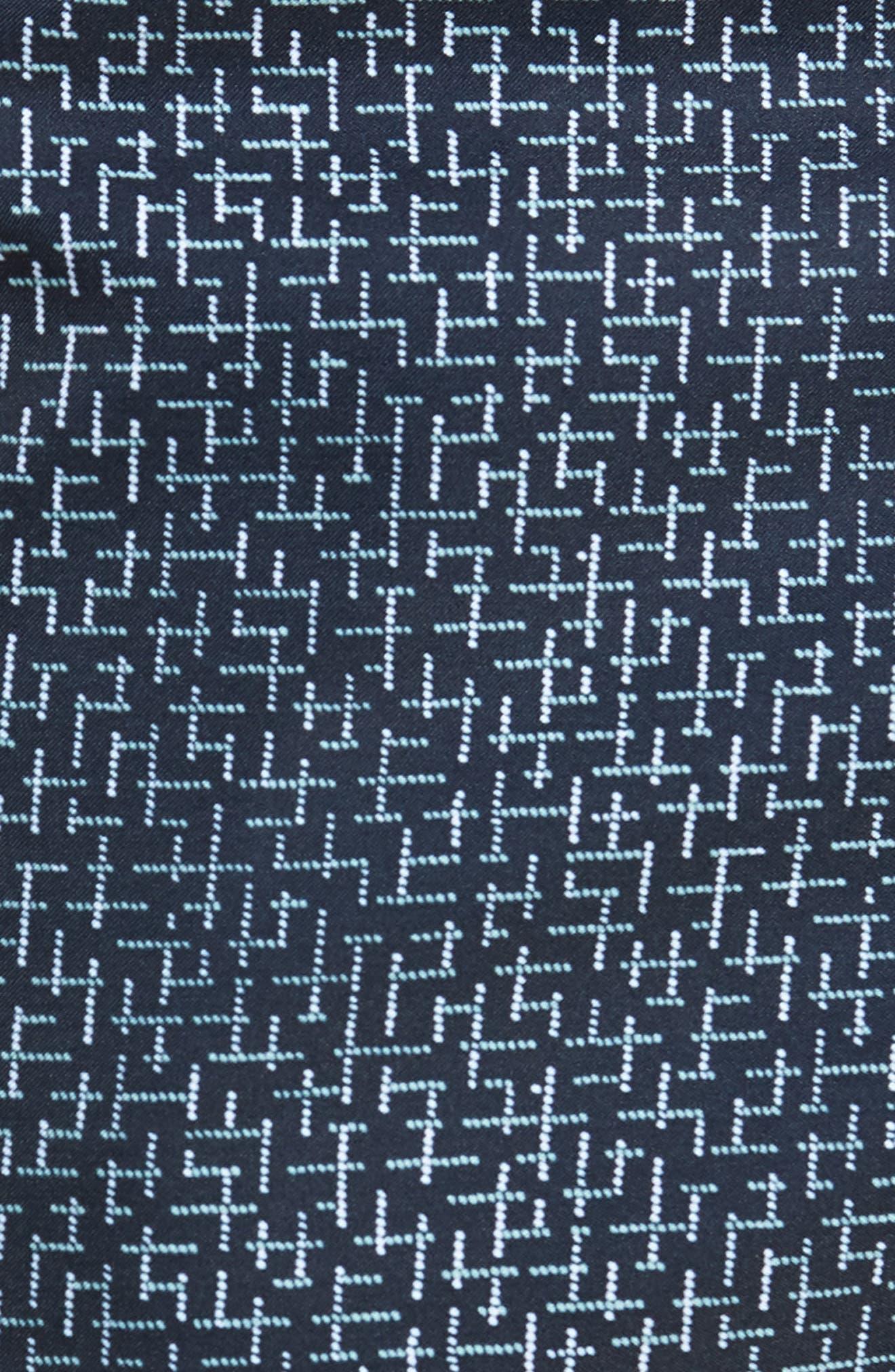 Crosshatch Swim Trunks,                             Alternate thumbnail 5, color,                             400
