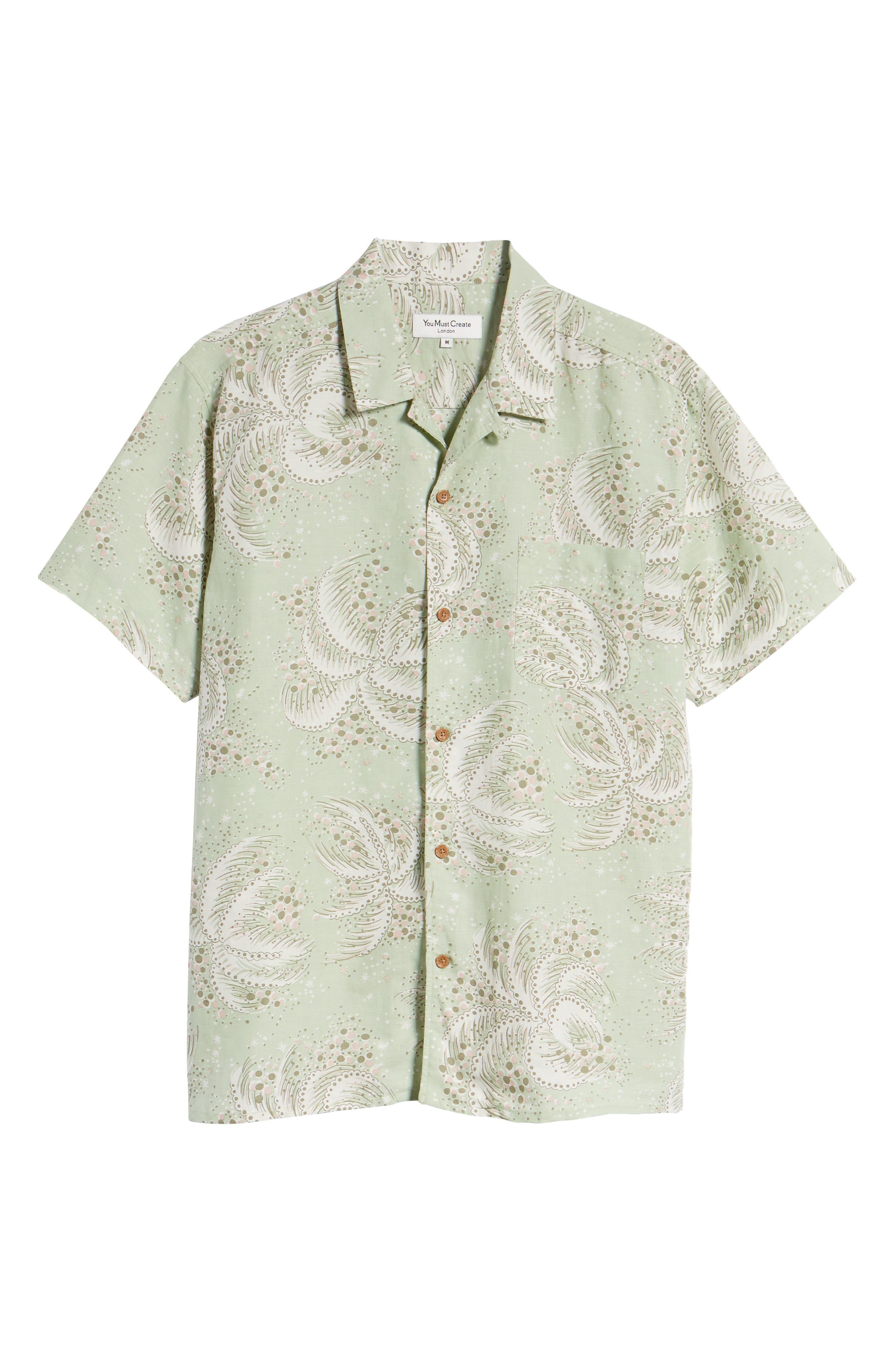 Malick Slim Fit Print Sport Shirt,                             Alternate thumbnail 6, color,                             300