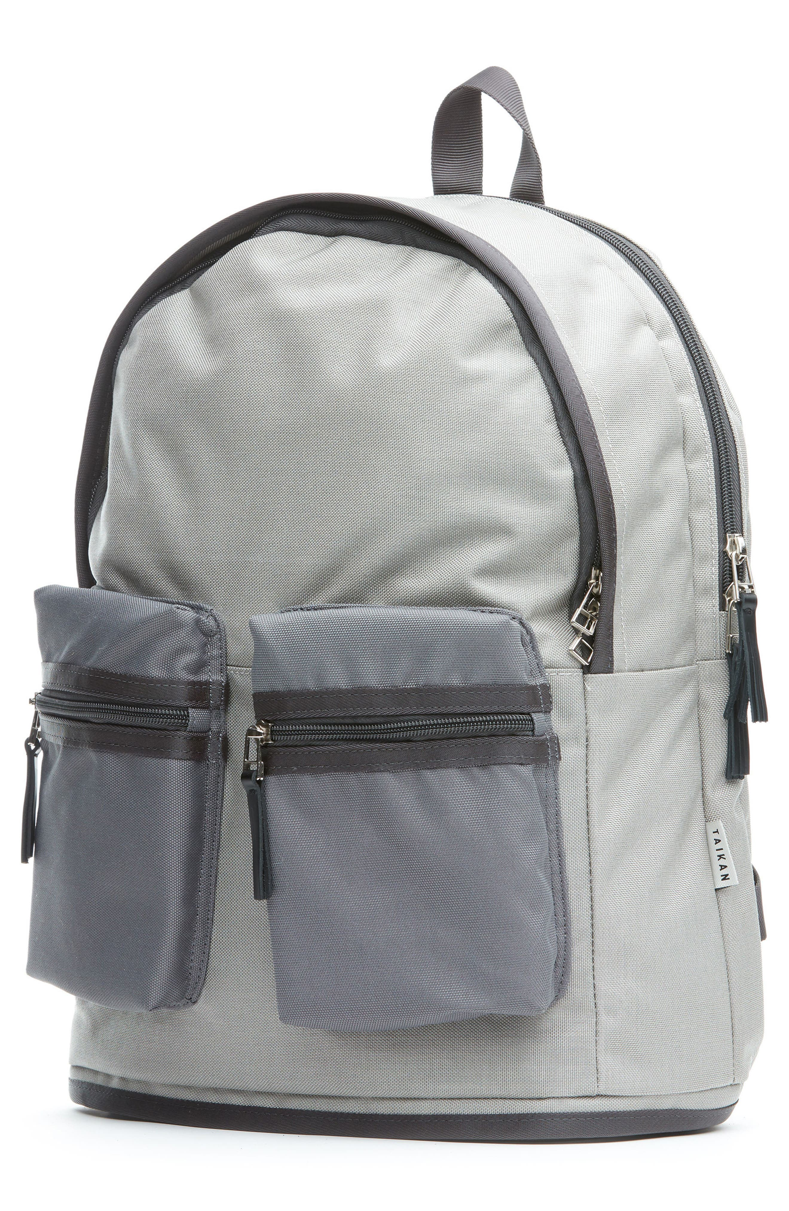 TAIKAN,                             Spartan Backpack,                             Alternate thumbnail 4, color,                             GREY/ GREY