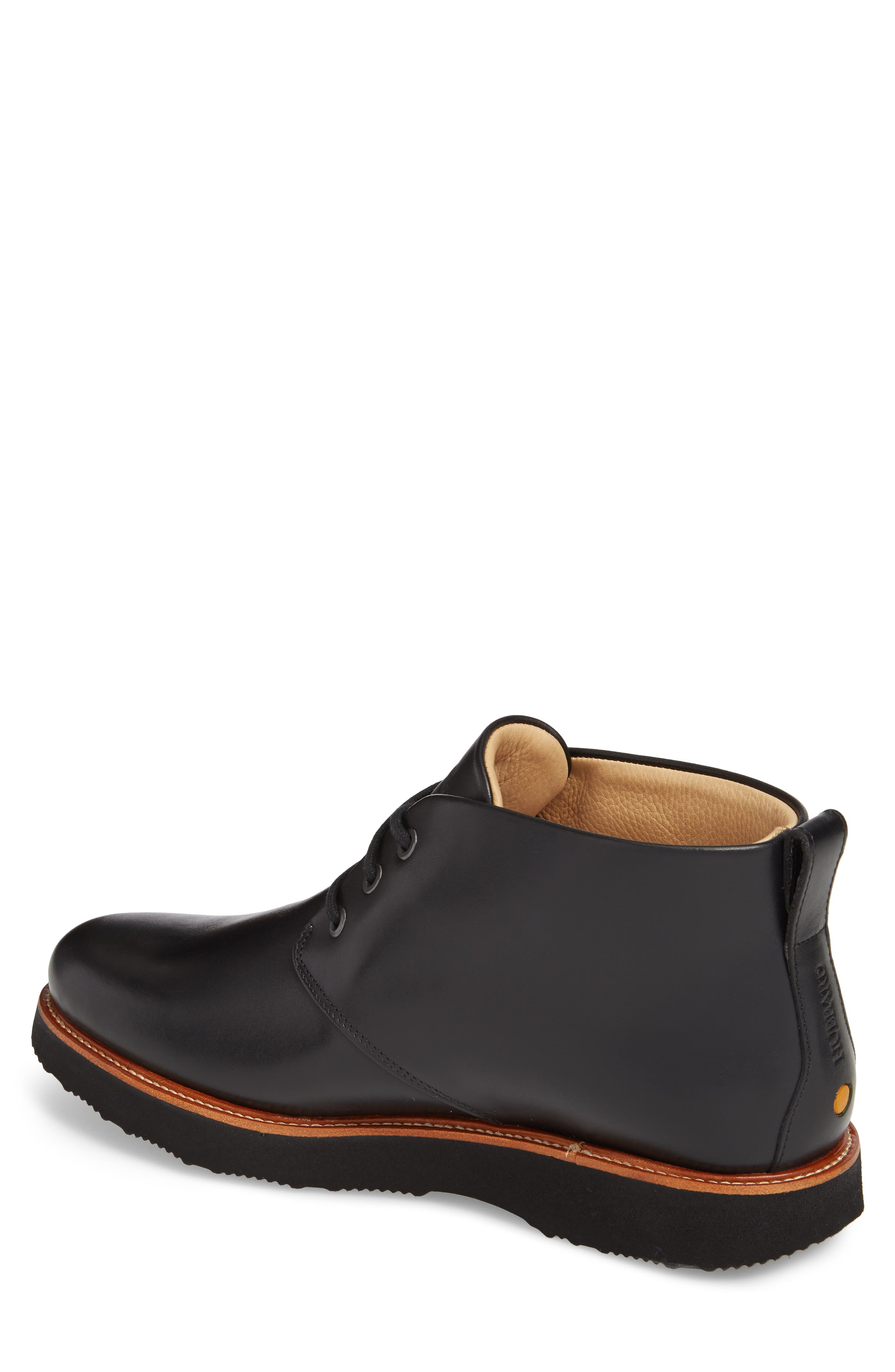 Re-Boot Waterproof Gore-Tex<sup>®</sup> Chukka Boot,                             Alternate thumbnail 2, color,                             BLACK LEATHER