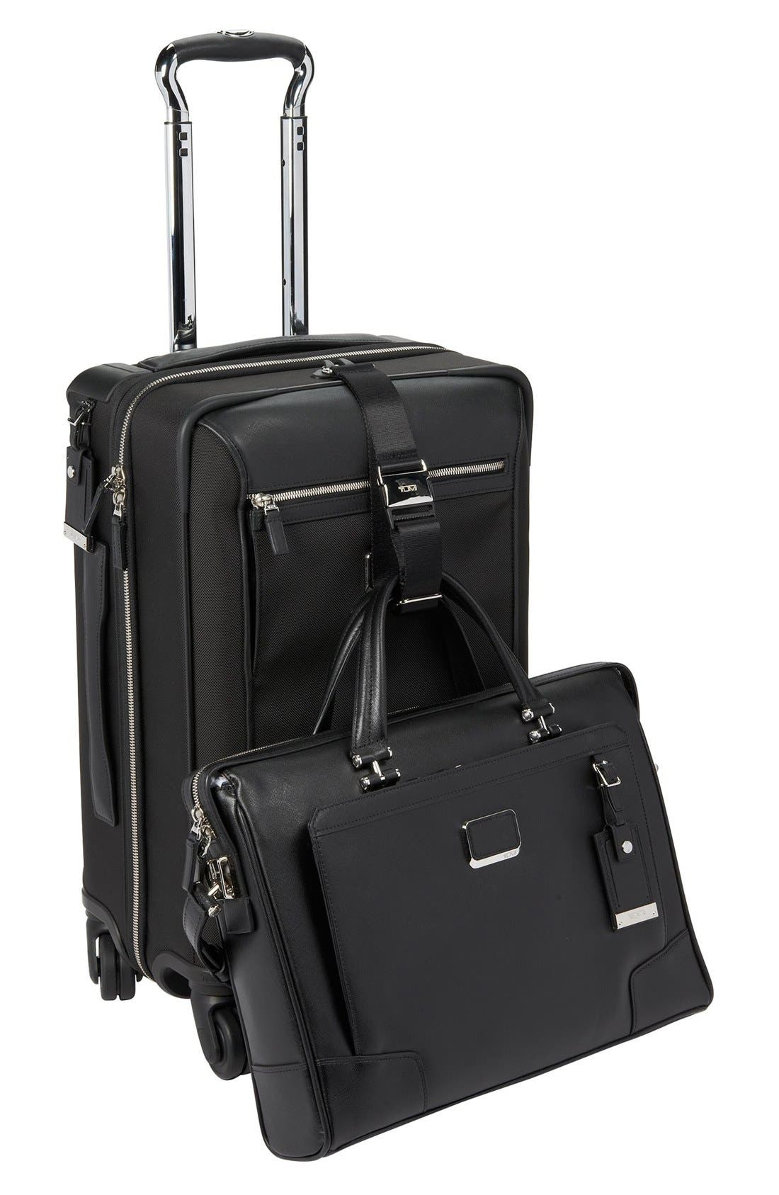 'Astor - Osborne' 4-Wheeled Carry-On Suitcase,                             Alternate thumbnail 3, color,                             001