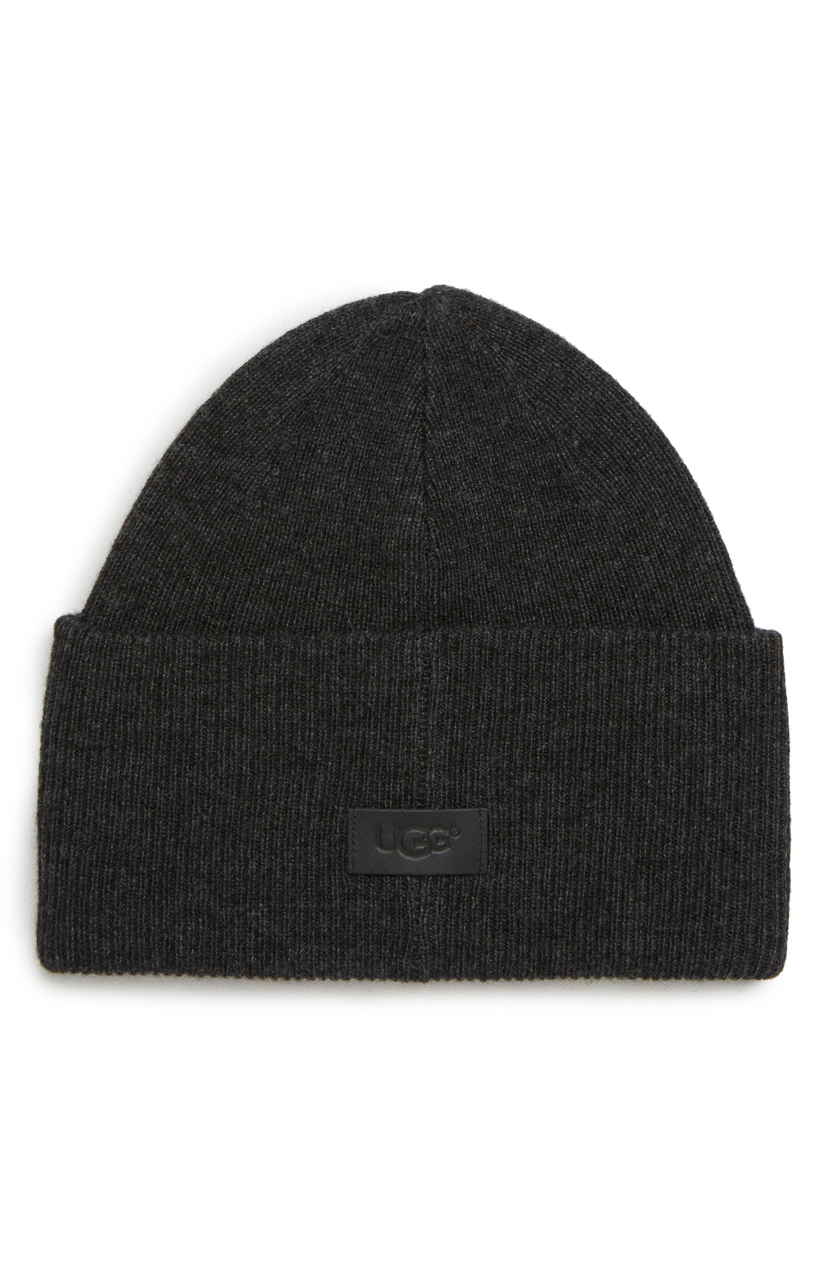 Ugg Beanies High Cuff Knit Wool & Cashmere Beanie