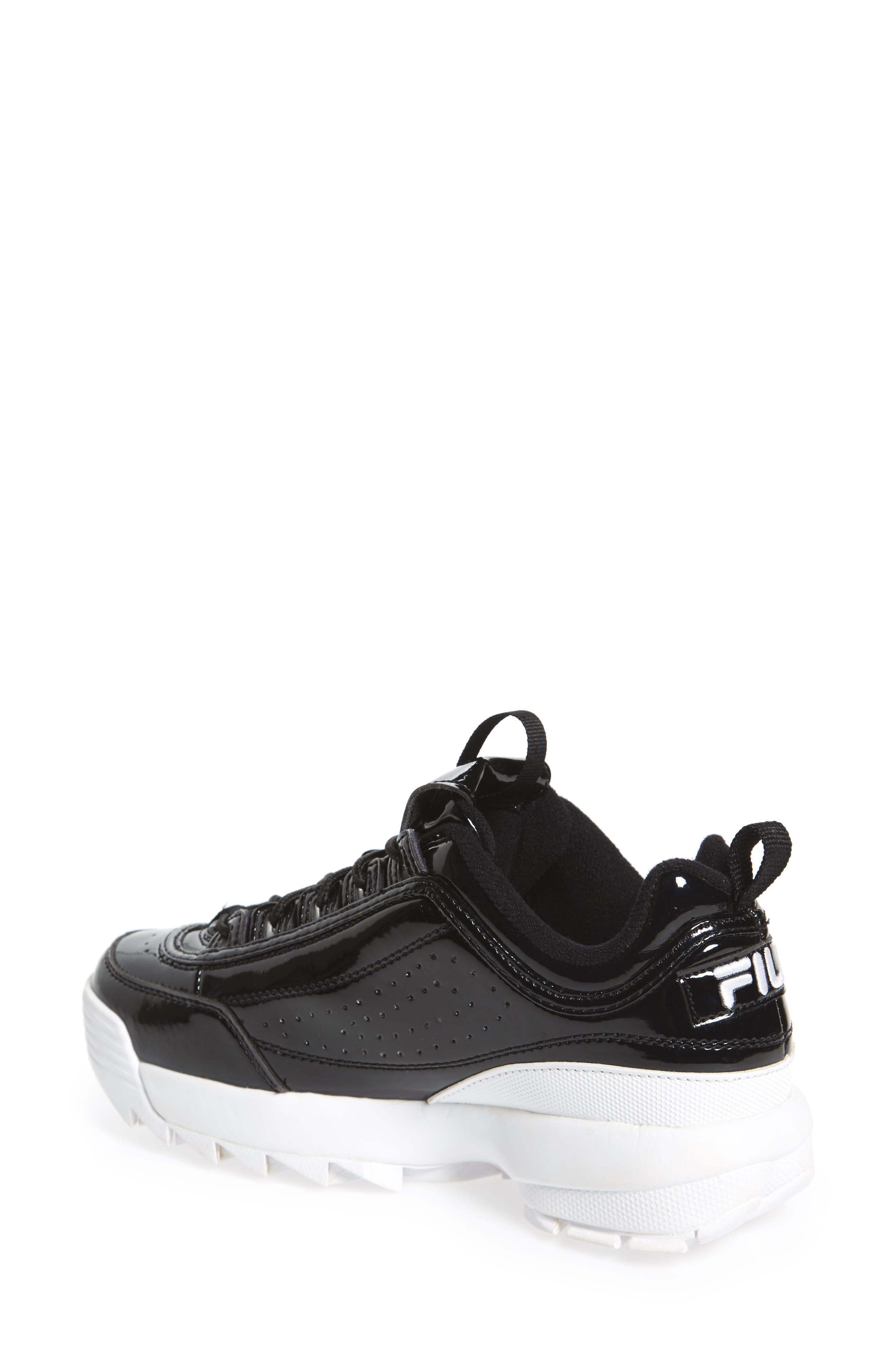 Disruptor II Premium Patent Sneaker,                             Alternate thumbnail 2, color,                             014