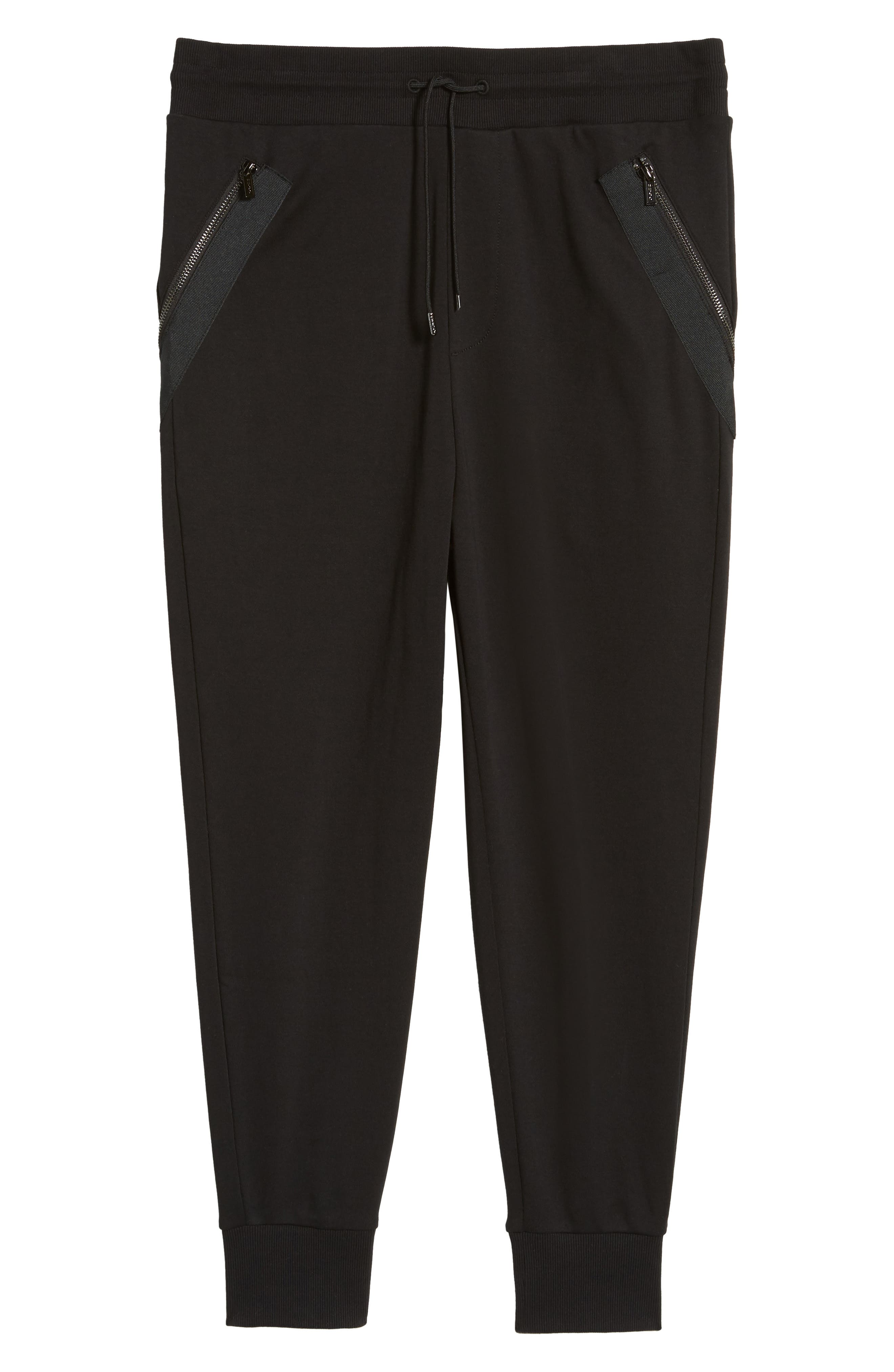 Daring Relaxed Fit Sweatpants,                             Alternate thumbnail 6, color,                             001