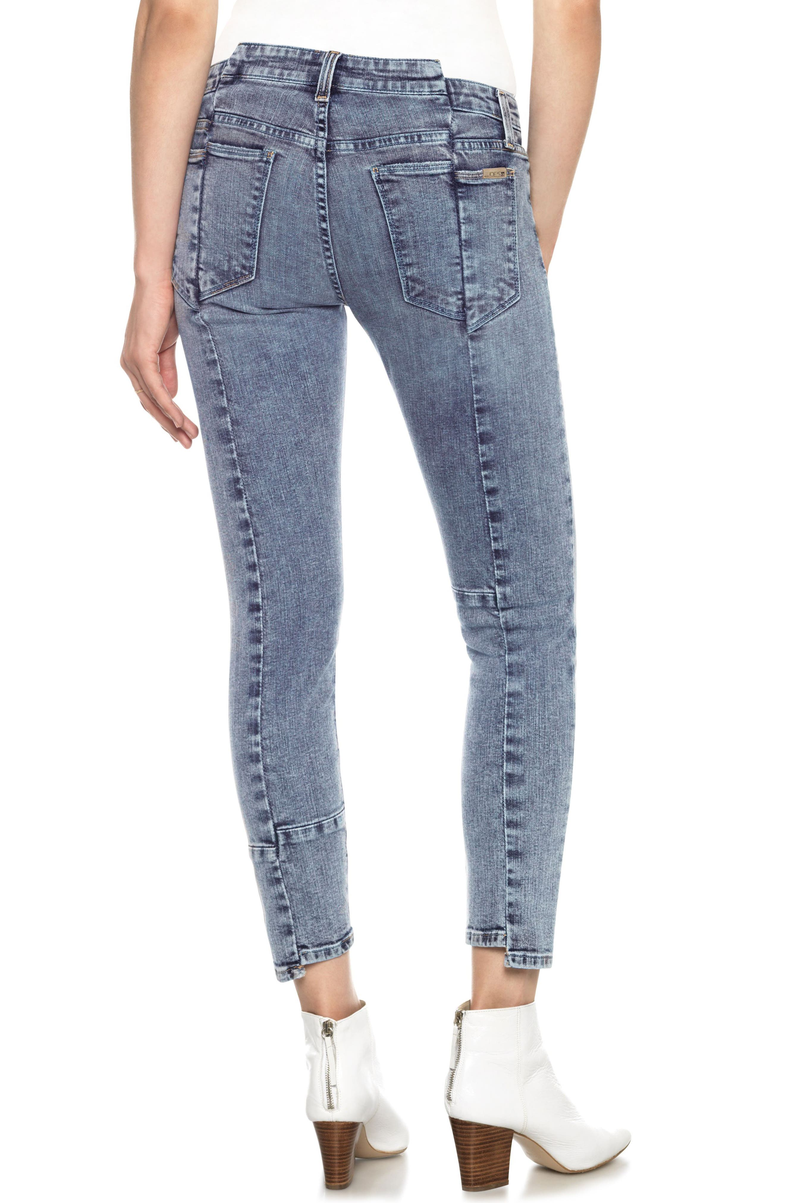 Smith Skinny Ankle Jeans,                             Alternate thumbnail 2, color,                             010
