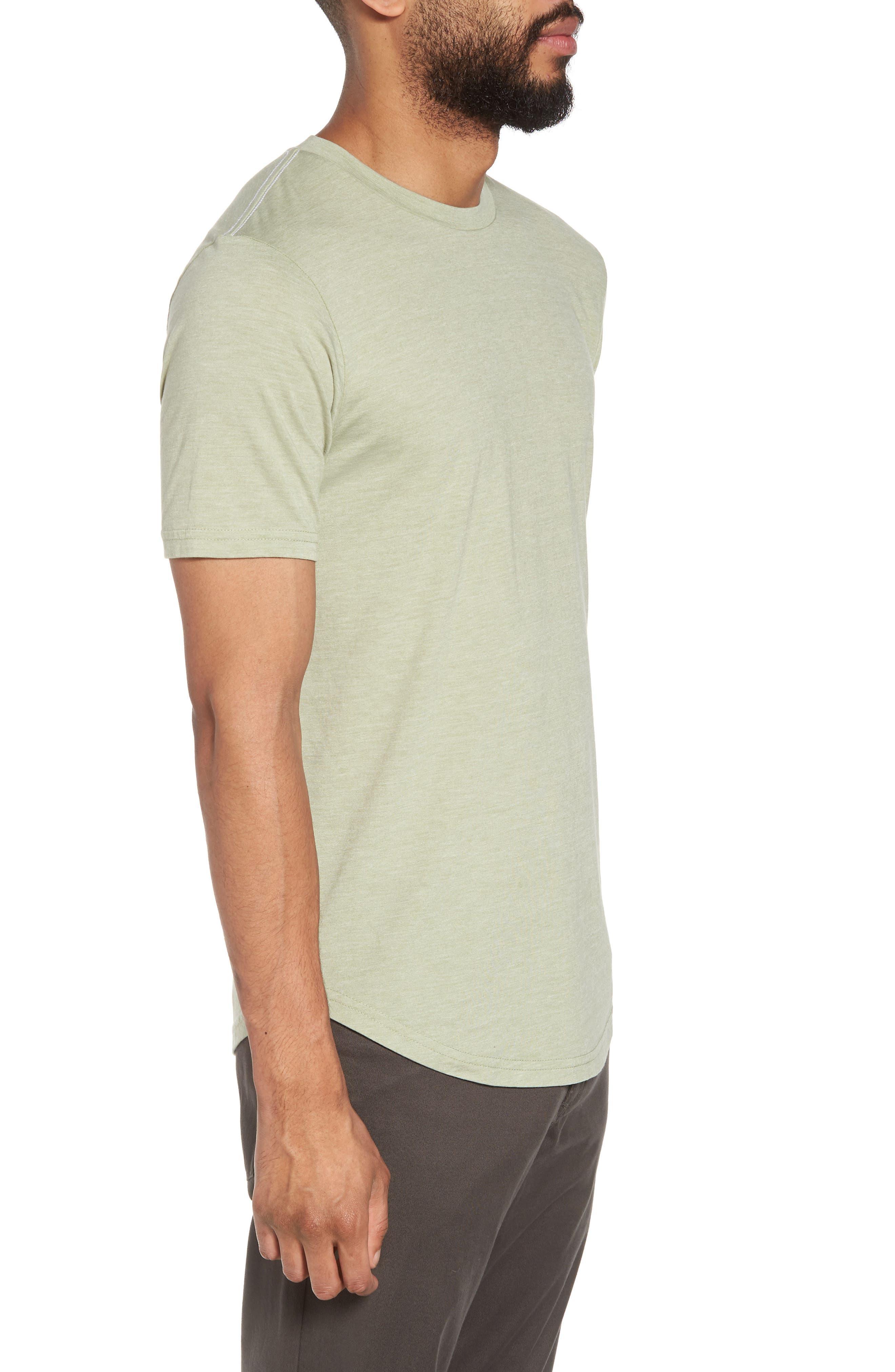 Scallop Triblend Crewneck T-Shirt,                             Alternate thumbnail 51, color,