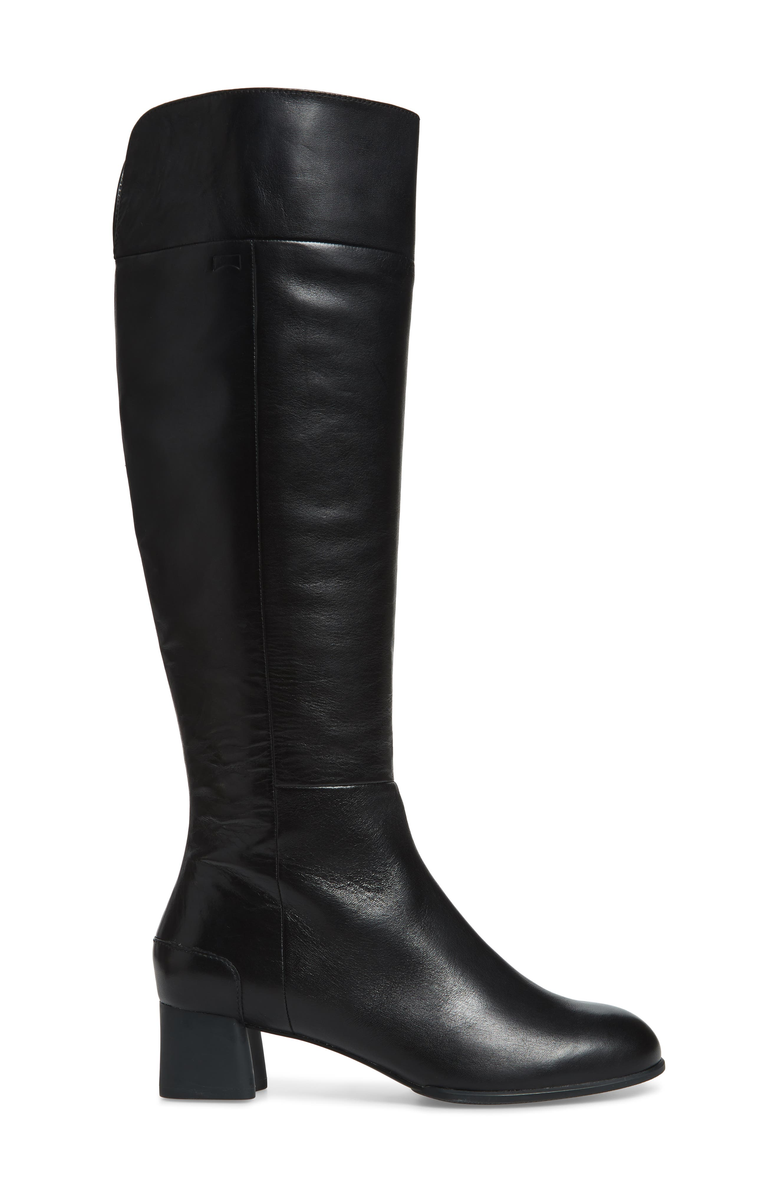 Katie Knee High Boot,                             Alternate thumbnail 3, color,                             001