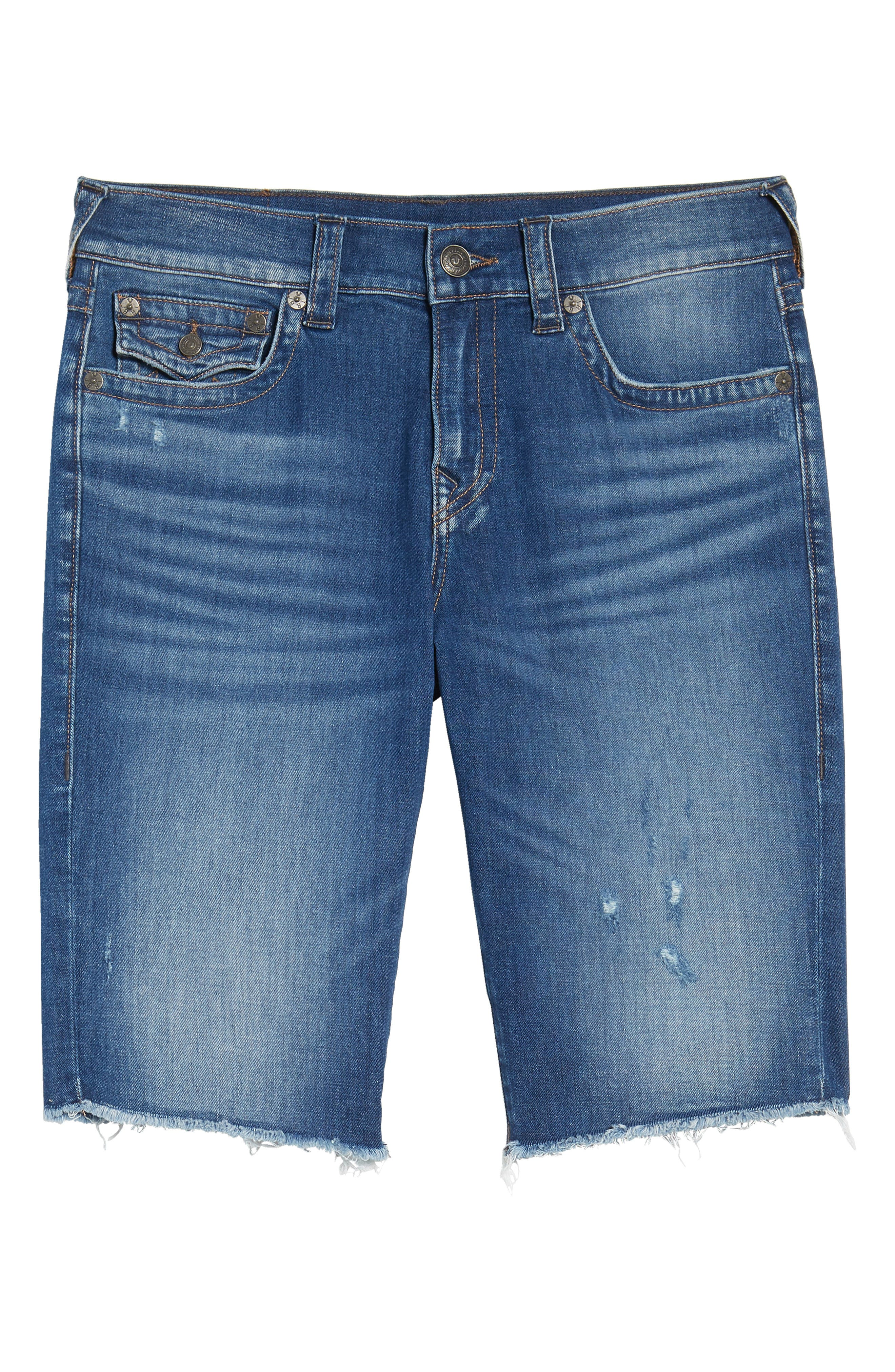 Ricky Relaxed Fit Denim Shorts,                             Alternate thumbnail 6, color,