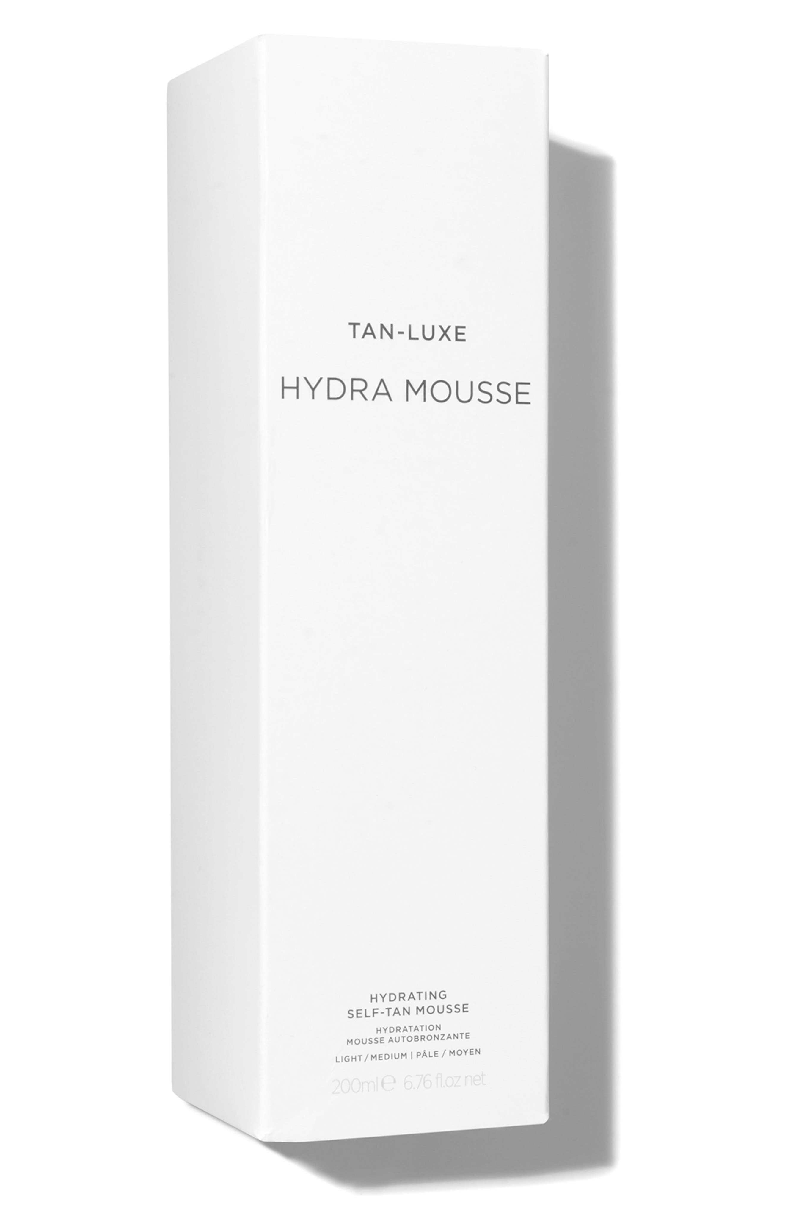 SPACE.NK.apothecary TAN-LUXE Hydra Mousse Hydrating Self-Tan Mousse,                             Alternate thumbnail 4, color,                             200